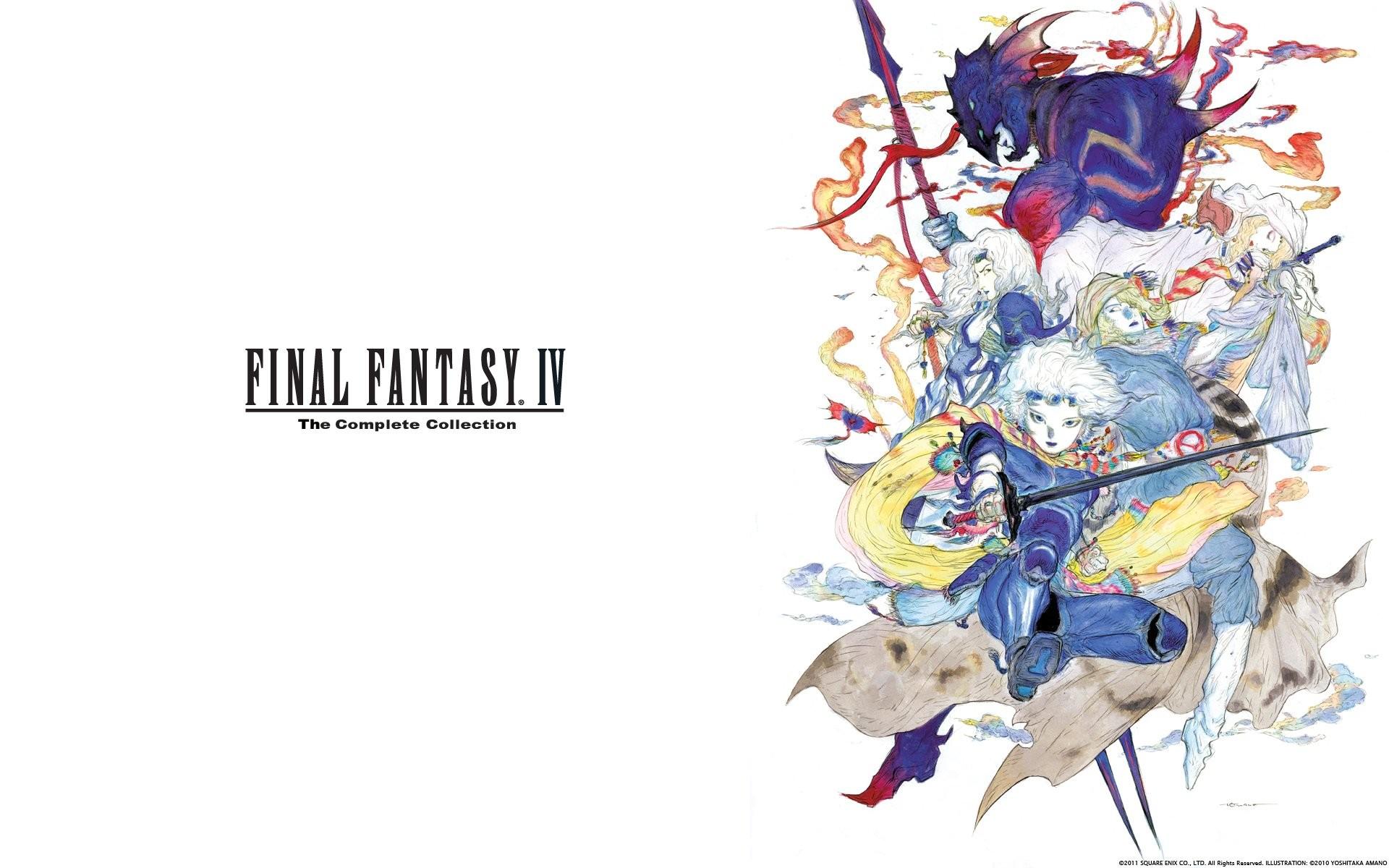 Final Fantasy Iv Complete Collection Psp