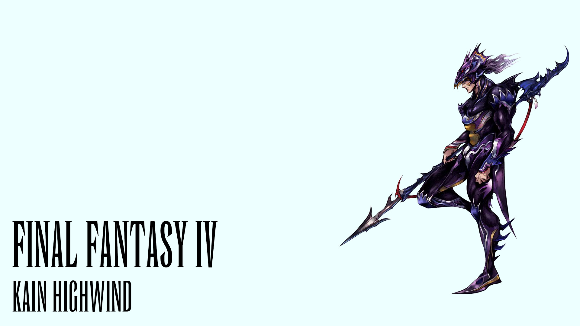 Video Game – Final Fantasy IV Kain Highwind Final Fantasy Wallpaper