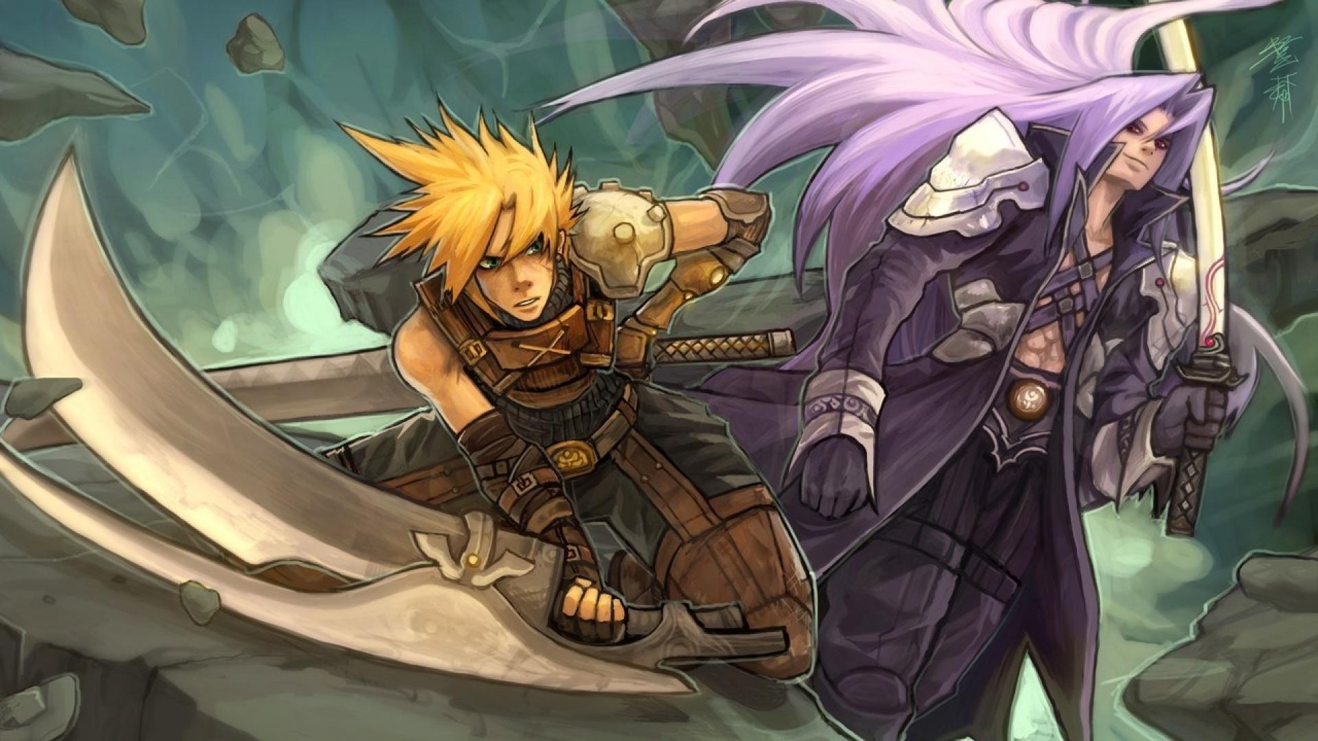 Cloud Strife Vs Sephiroth …