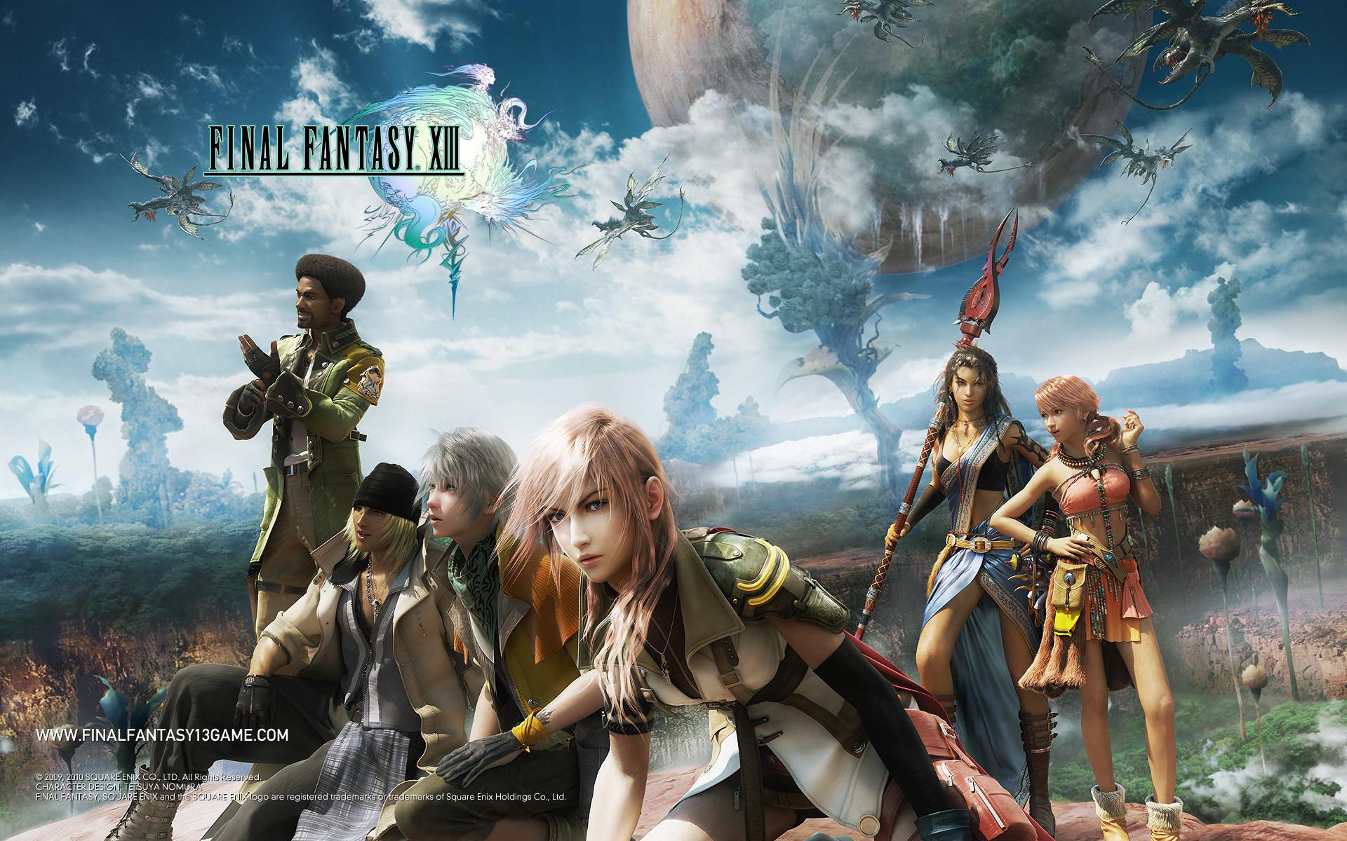 Final Fantasy Wallpapers – FFXIII
