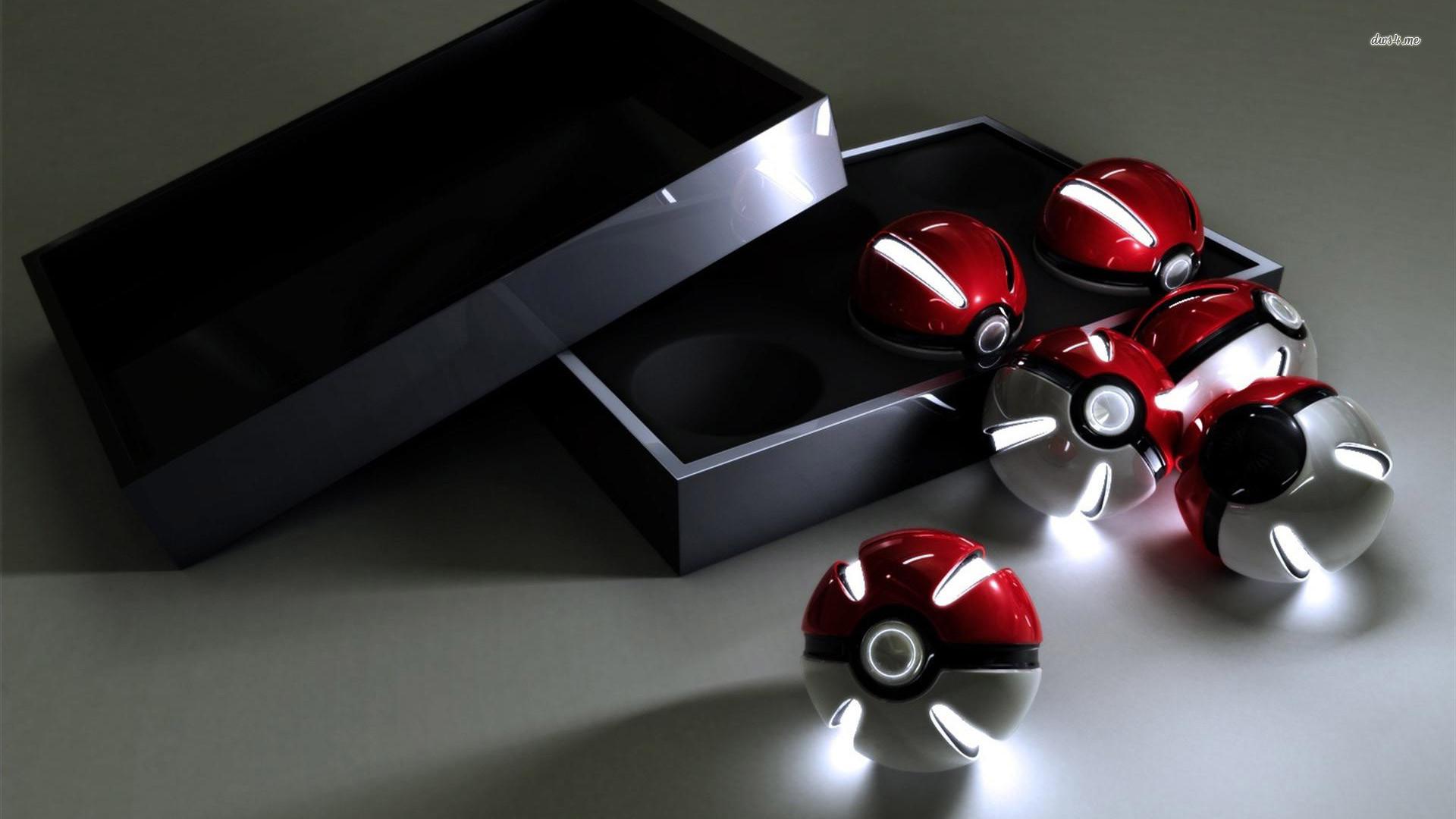 Pokemon 3D Wallpaper | 3D Pokemon Pokeball