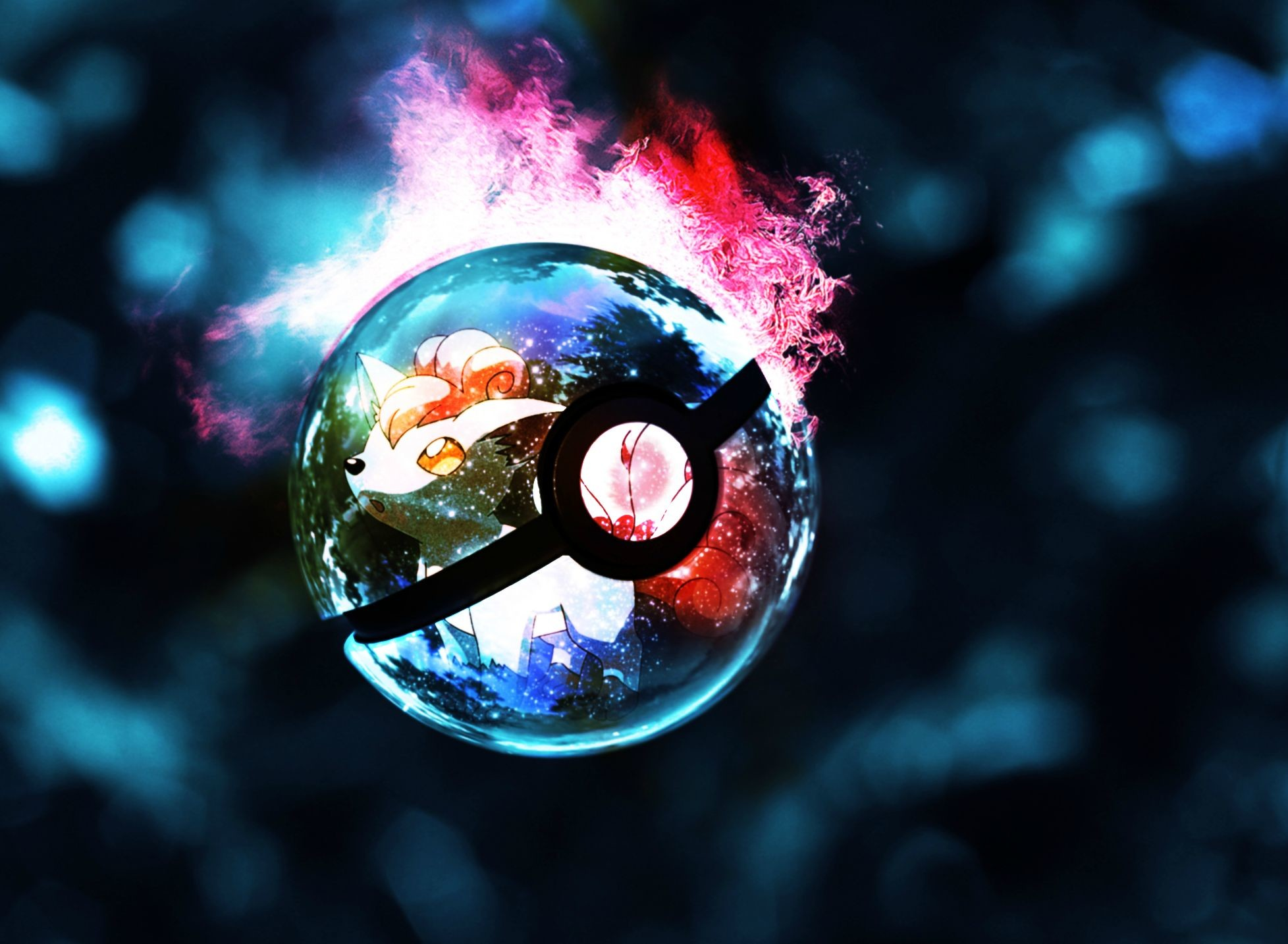 The Pokeballs came from a popular video game and anime series called Pokemon.  These balls are used by all trainers to catch and store pokemons.