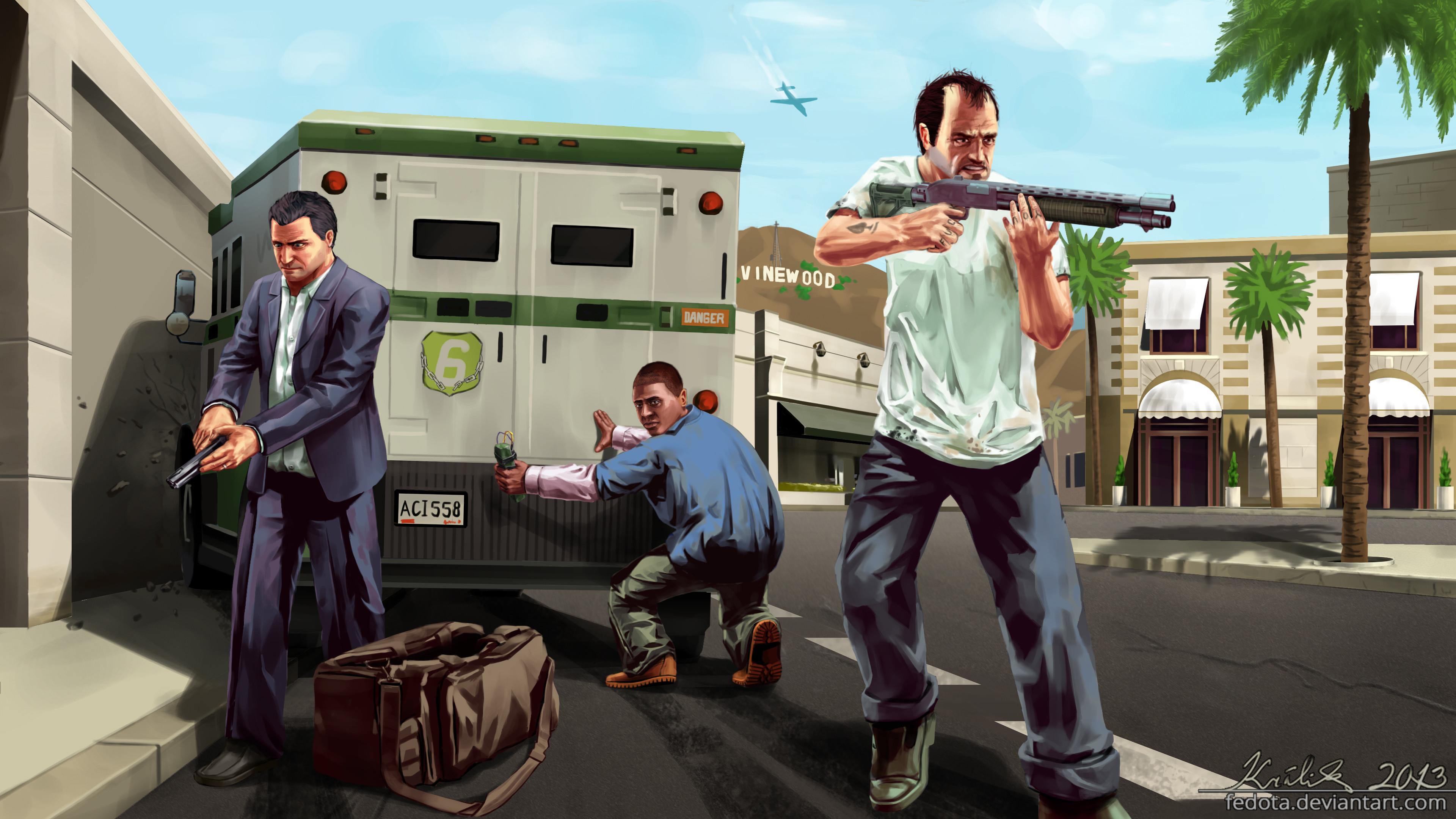 … Grand Theft Auto V 4K by Fedota