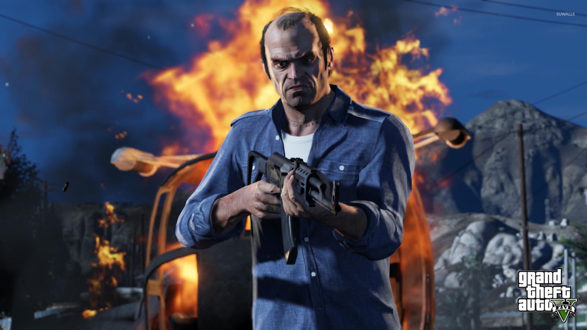 Trevor – Grand Theft Auto V [2] wallpaper jpg