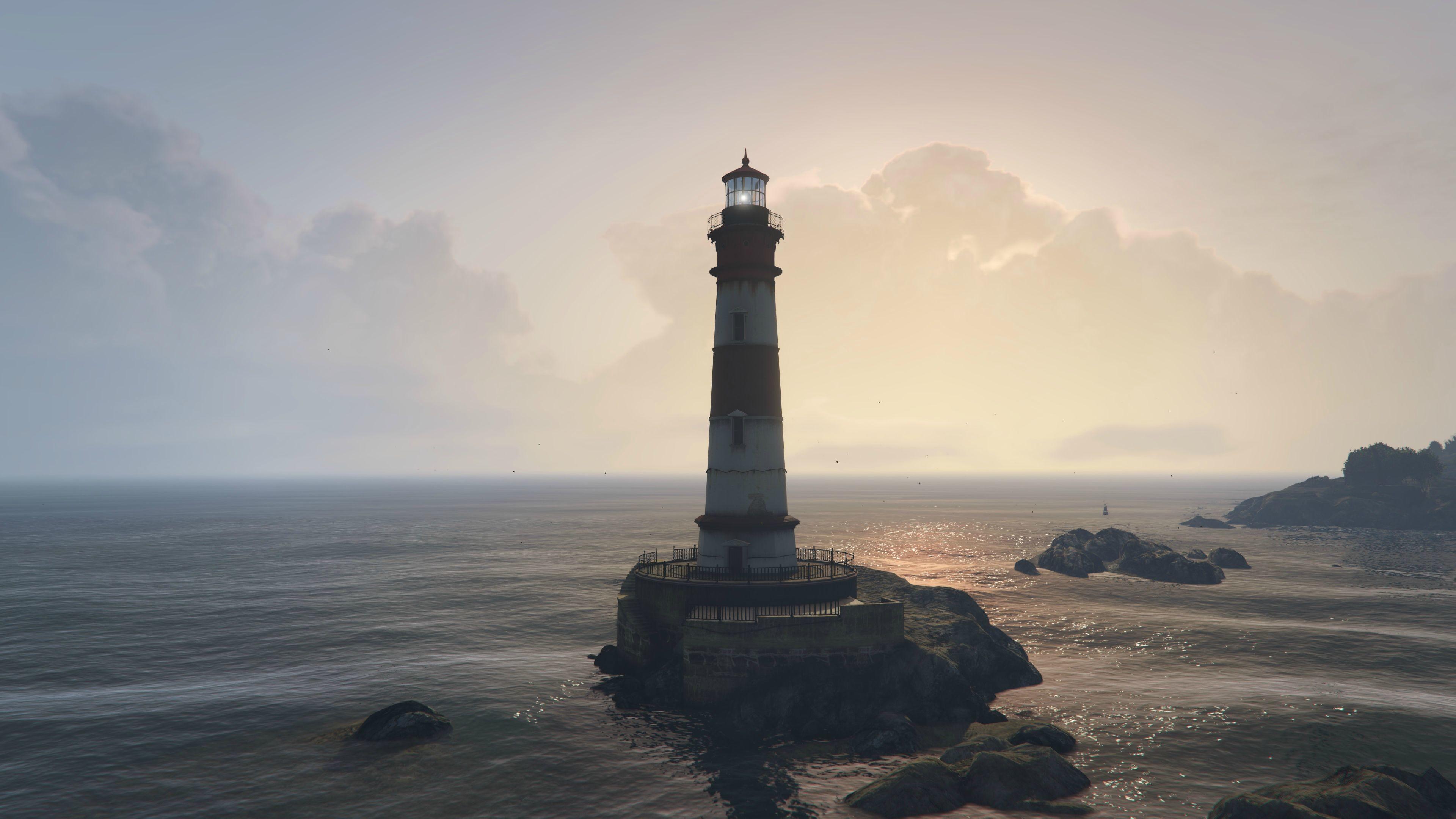ImageGTA V PC Lighthouse 4K screenshot …