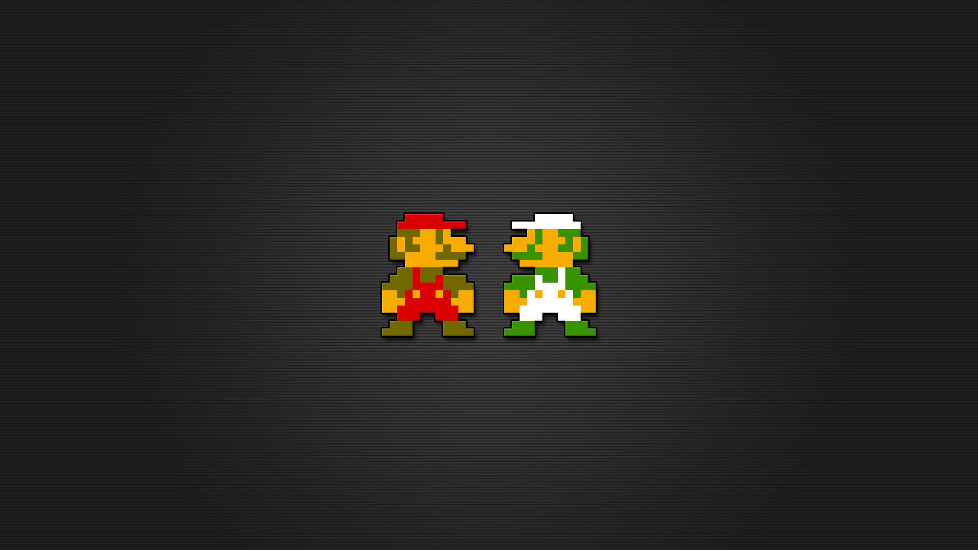 … Super Mario Wallpaper 8 Bit (02) …