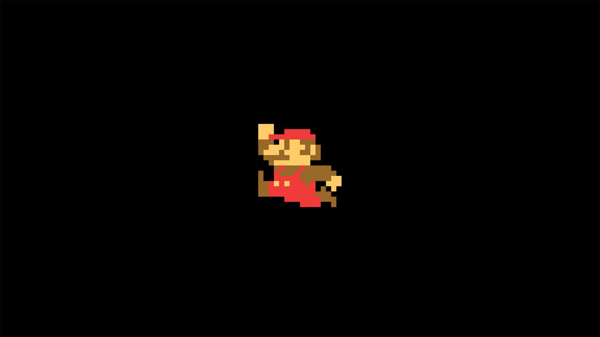 8 bit, Super Mario, Minimalism, Video Games, Pixels