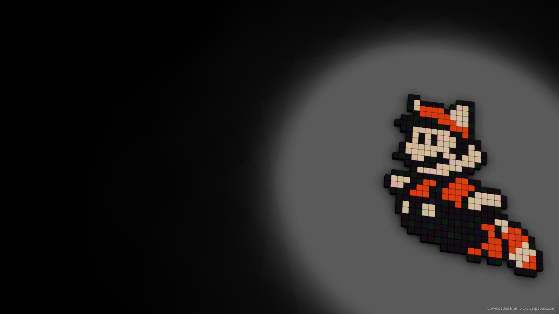 8-bit Mario for 1920×1080