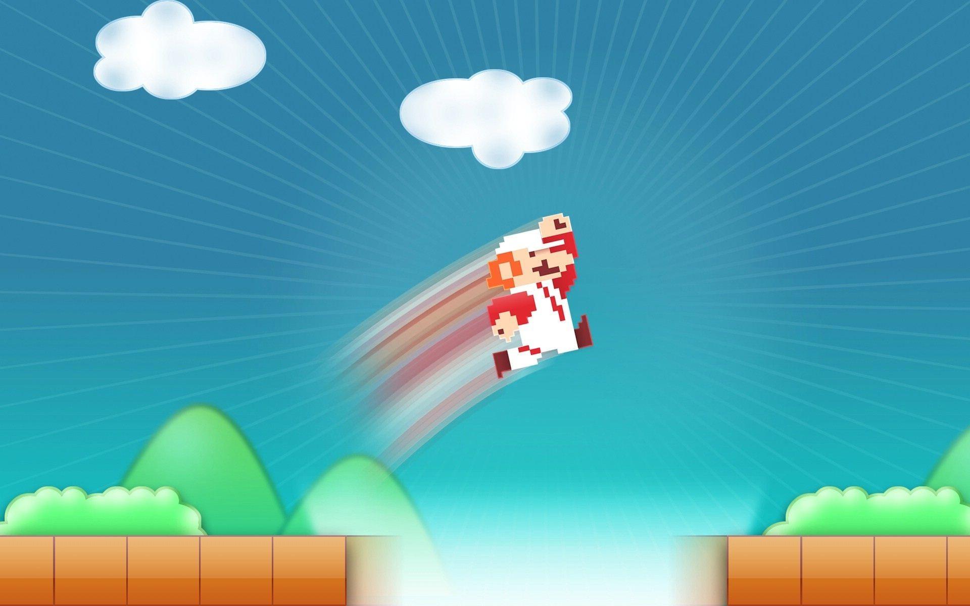 Mario 8bit #wallpaper