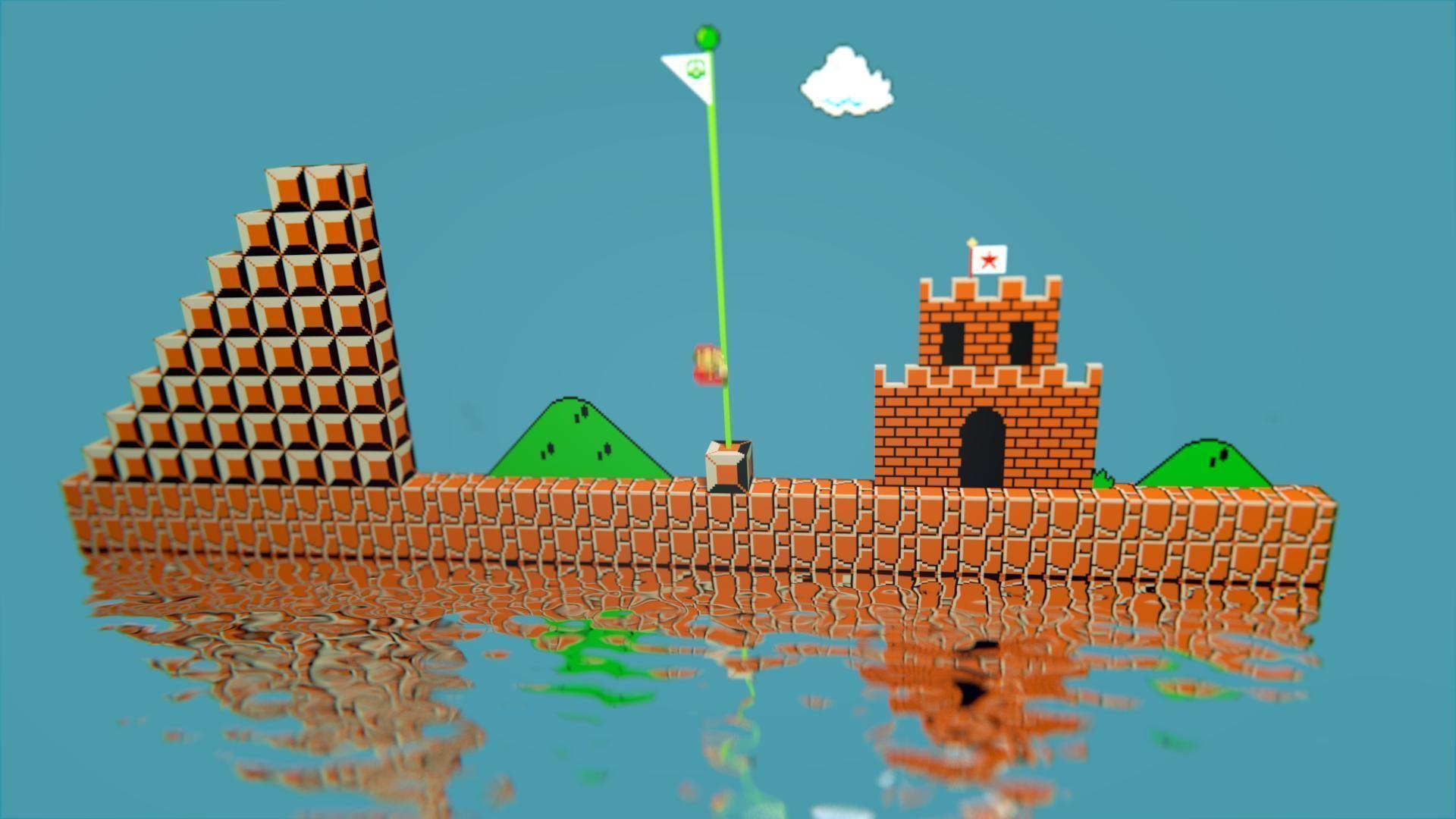 Mario 8 Bit HD Wallpaper     ID:57427 – WallpaperVortex.com