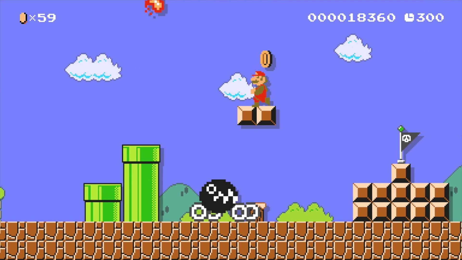 "Super Mario Maker Levels: ""8-bit Giants"""