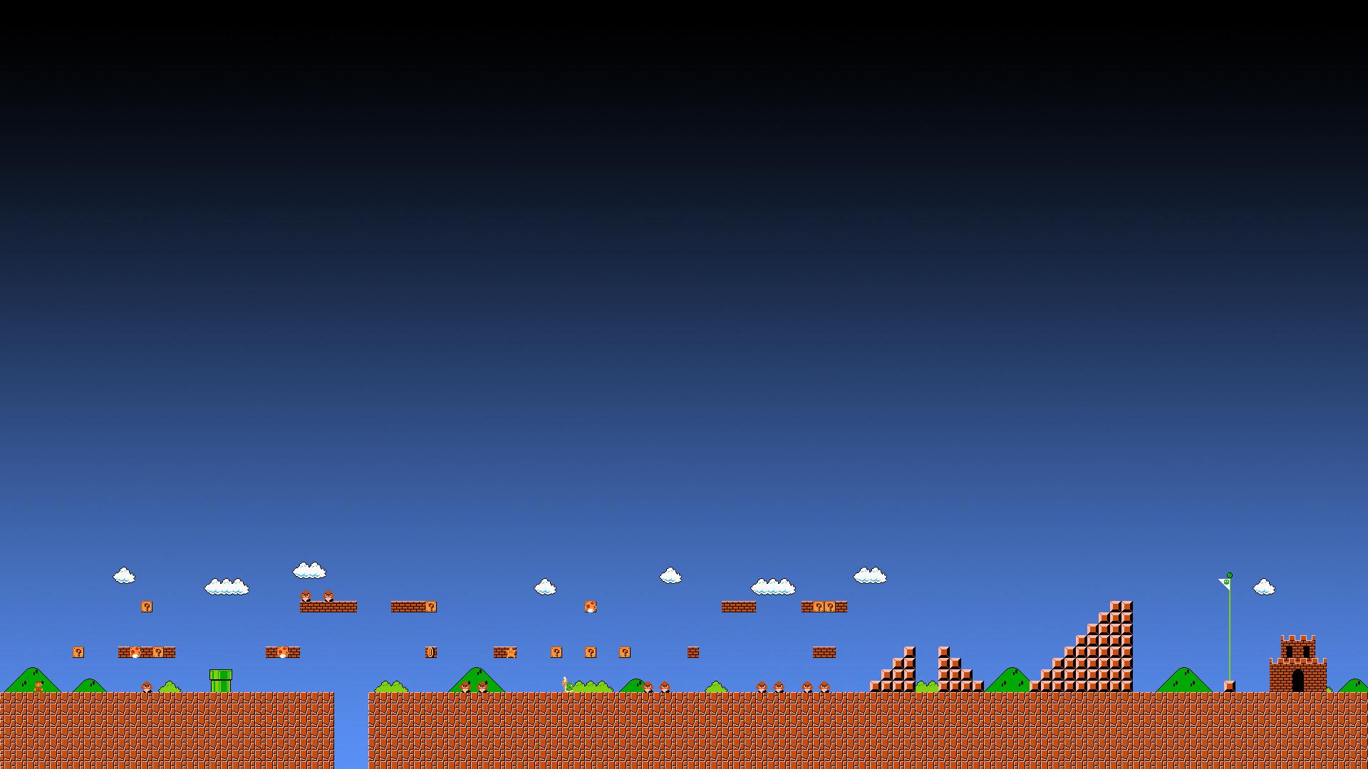 … Super Mario 1-1 Wallpaper – HD 1080p by ColinPlox