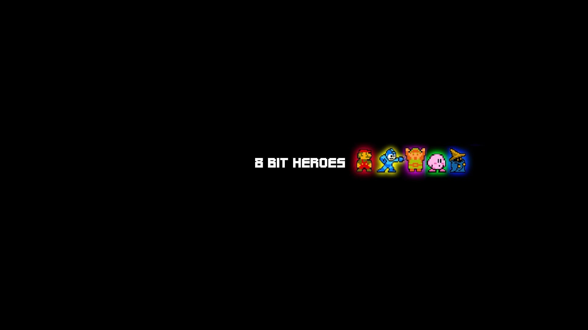 General 8-bit Super Mario minimalism The Legend of Zelda Mega Man  Kirby Link