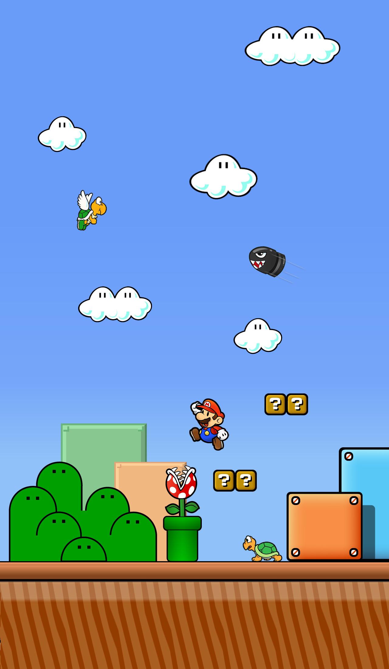 Super Mario World Wallpaper