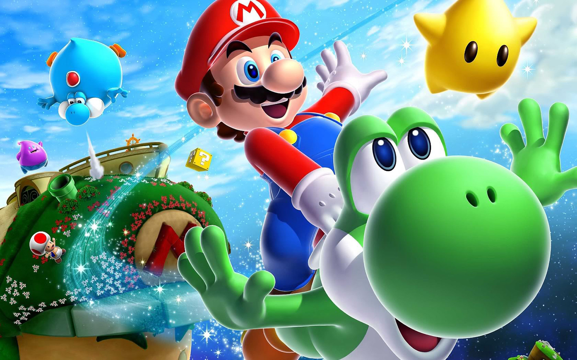 … Super Mario Wallpaper For Desktop (7) …