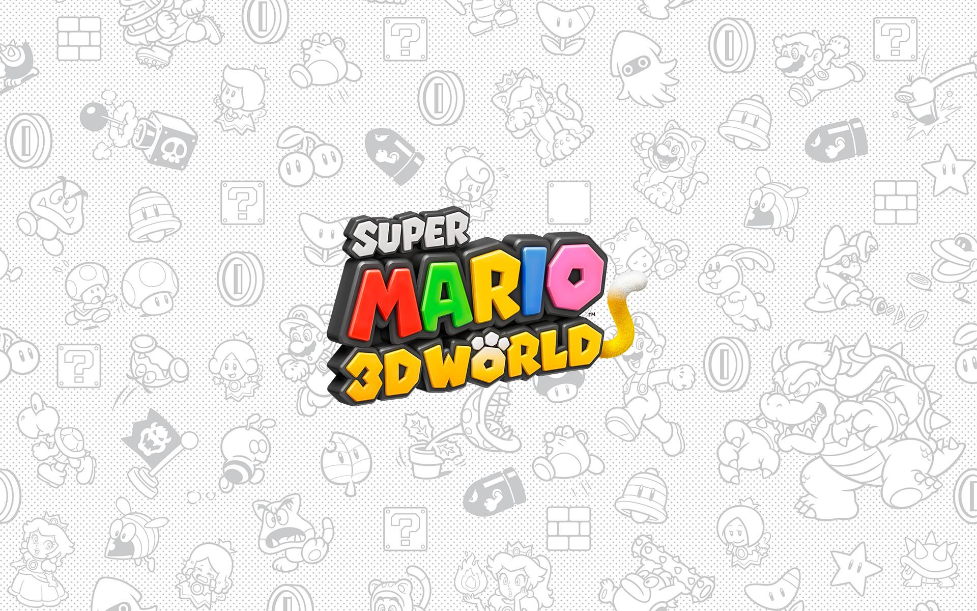 … Super Mario 3d World Wallpaper (08) …