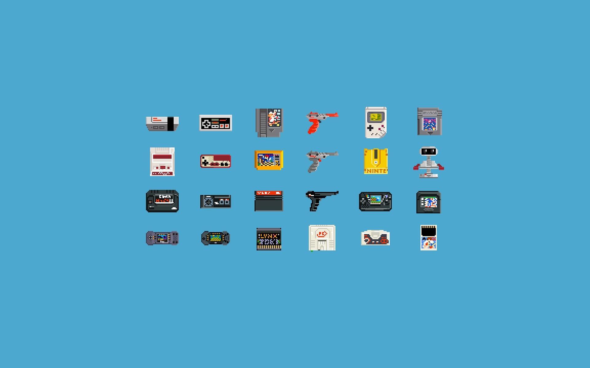 video Games, Consoles, Pixel Art, 8 bit, Nintendo Entertainment System,  GameBoy Wallpapers HD / Desktop and Mobile Backgrounds