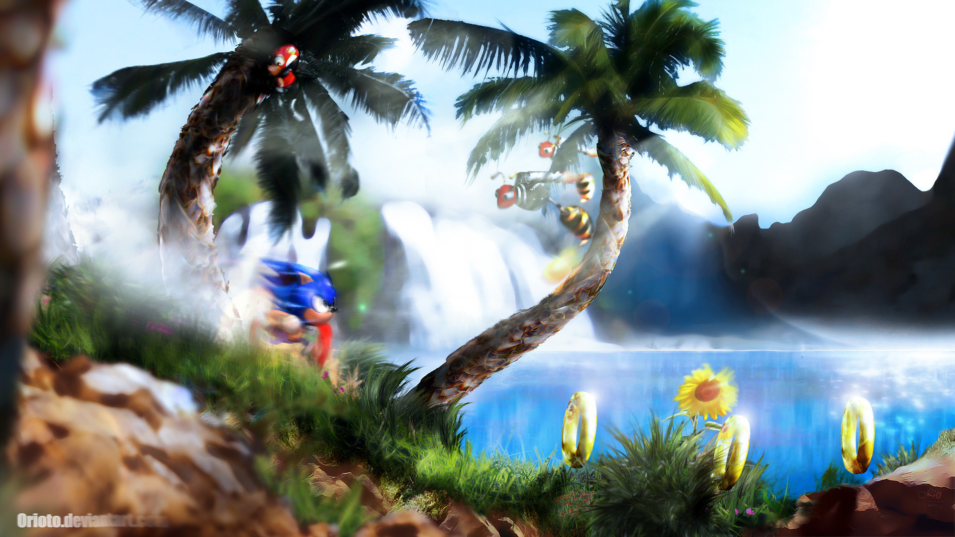 20 of the best video game HD wallpapers you'll ever see. Credit to Orioto  from DeviantArt.