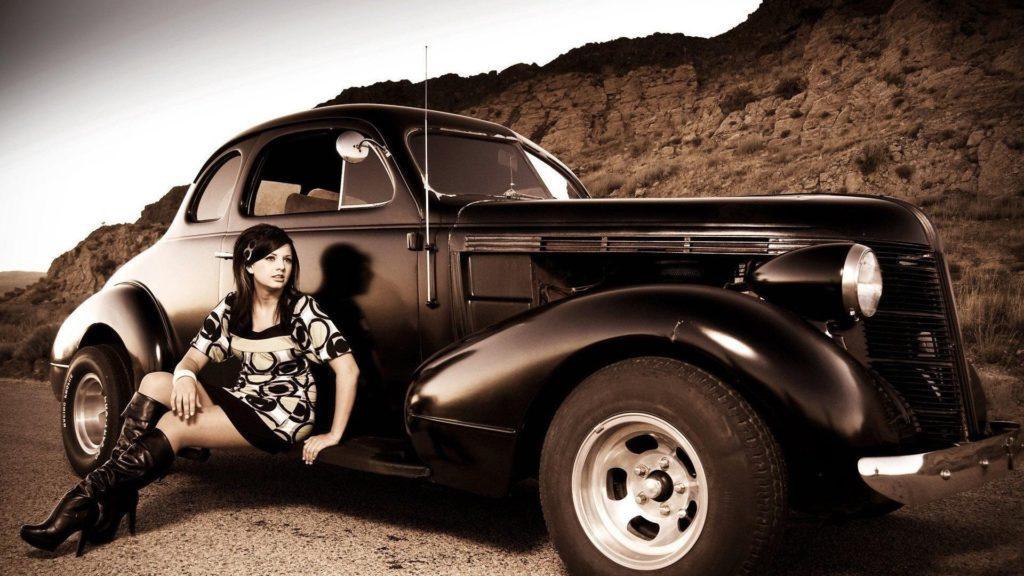 wallpapers free car girl (Swann Jones 1920 x 1080)