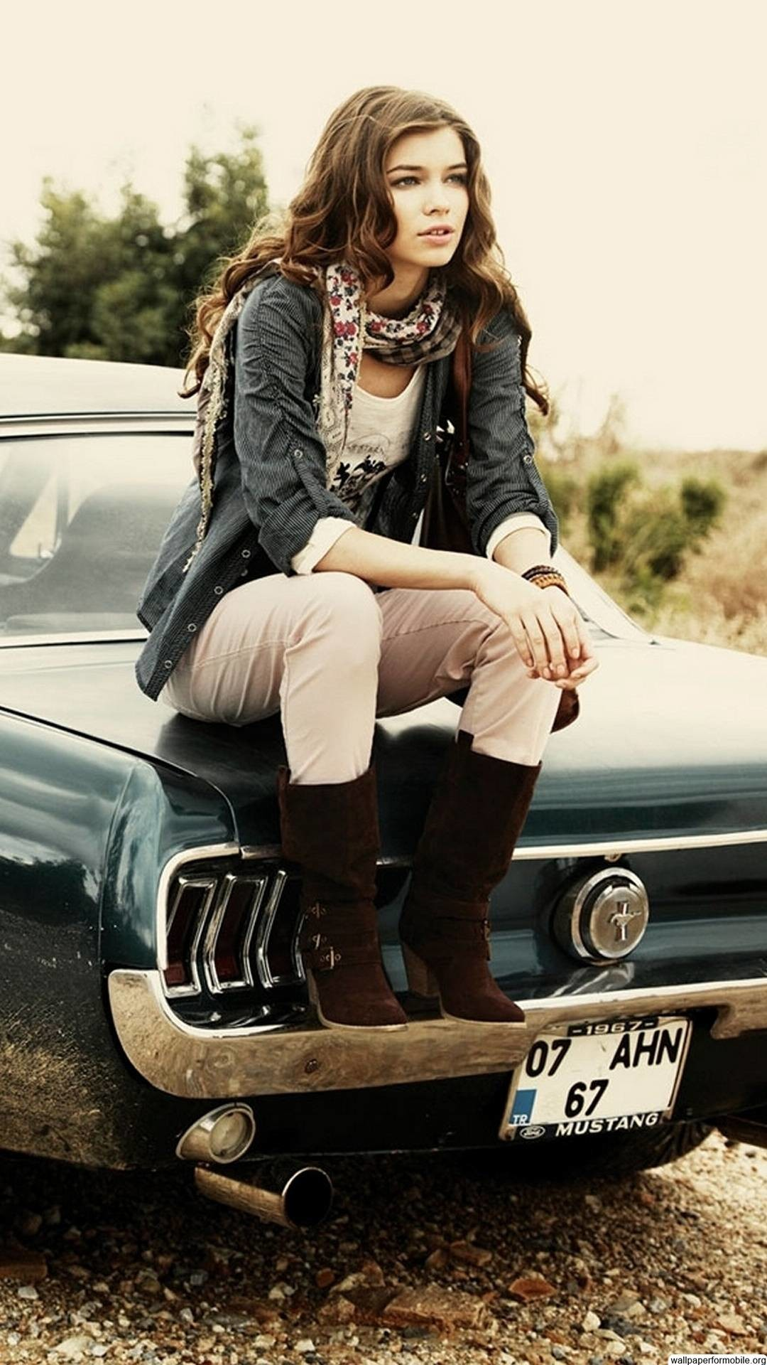 girls and muscle cars wallpaper …