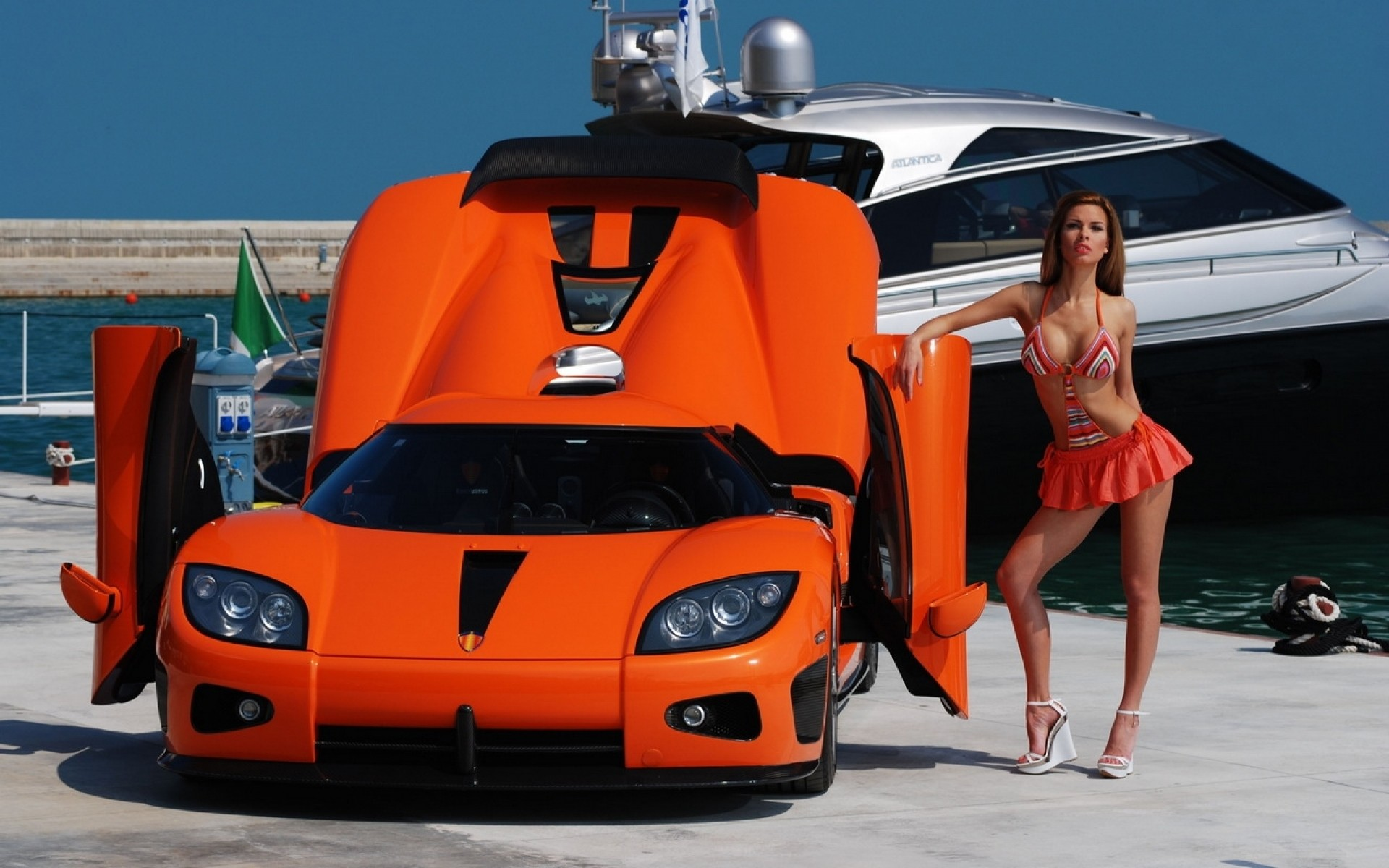 Cars And Girls Vehicles Wallpapers