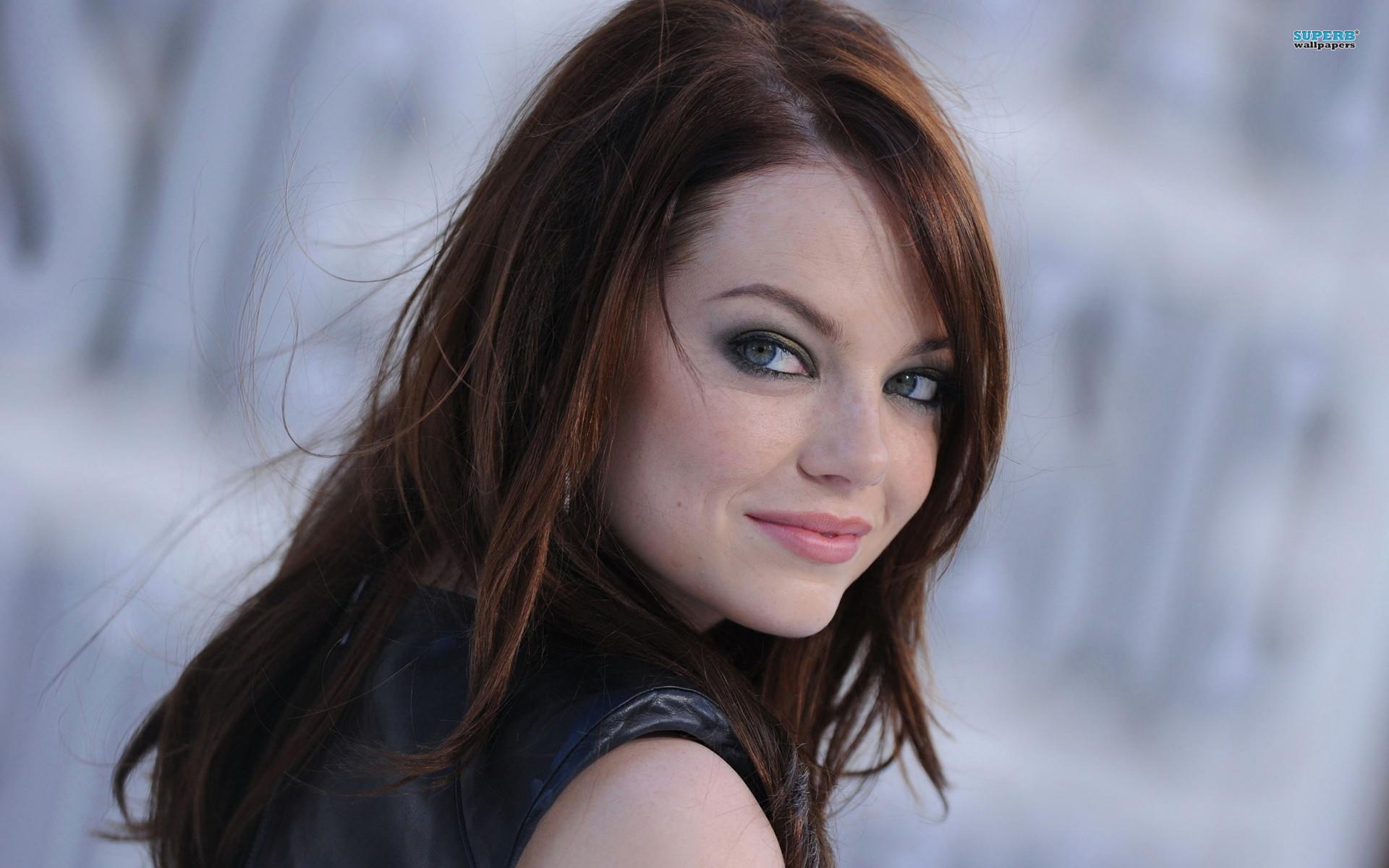 Emma Stone Hair Style HD Wallpaper Widescreen