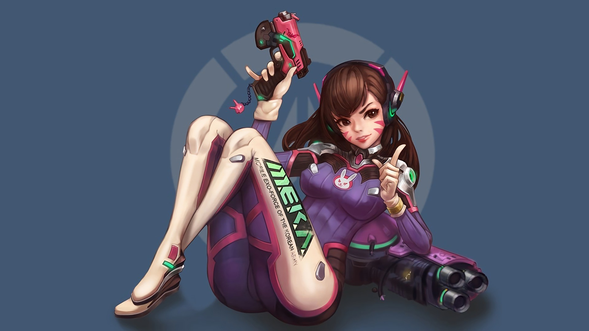 Dva Sexy Gamegirl Overwatch is a high definition desktop wallpaper from our  collection of free background