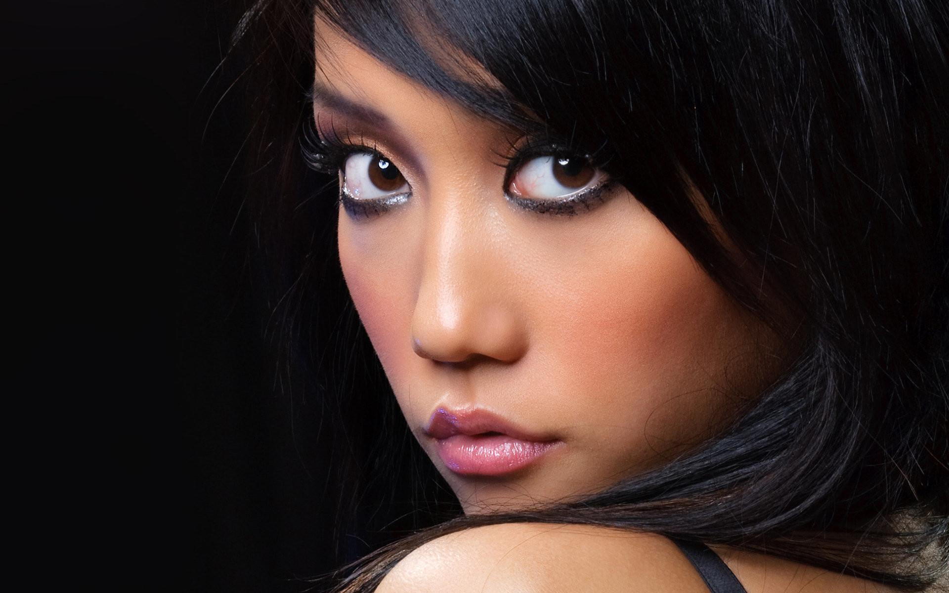Women – Face Beautiful Pretty Cute Woman Wallpaper
