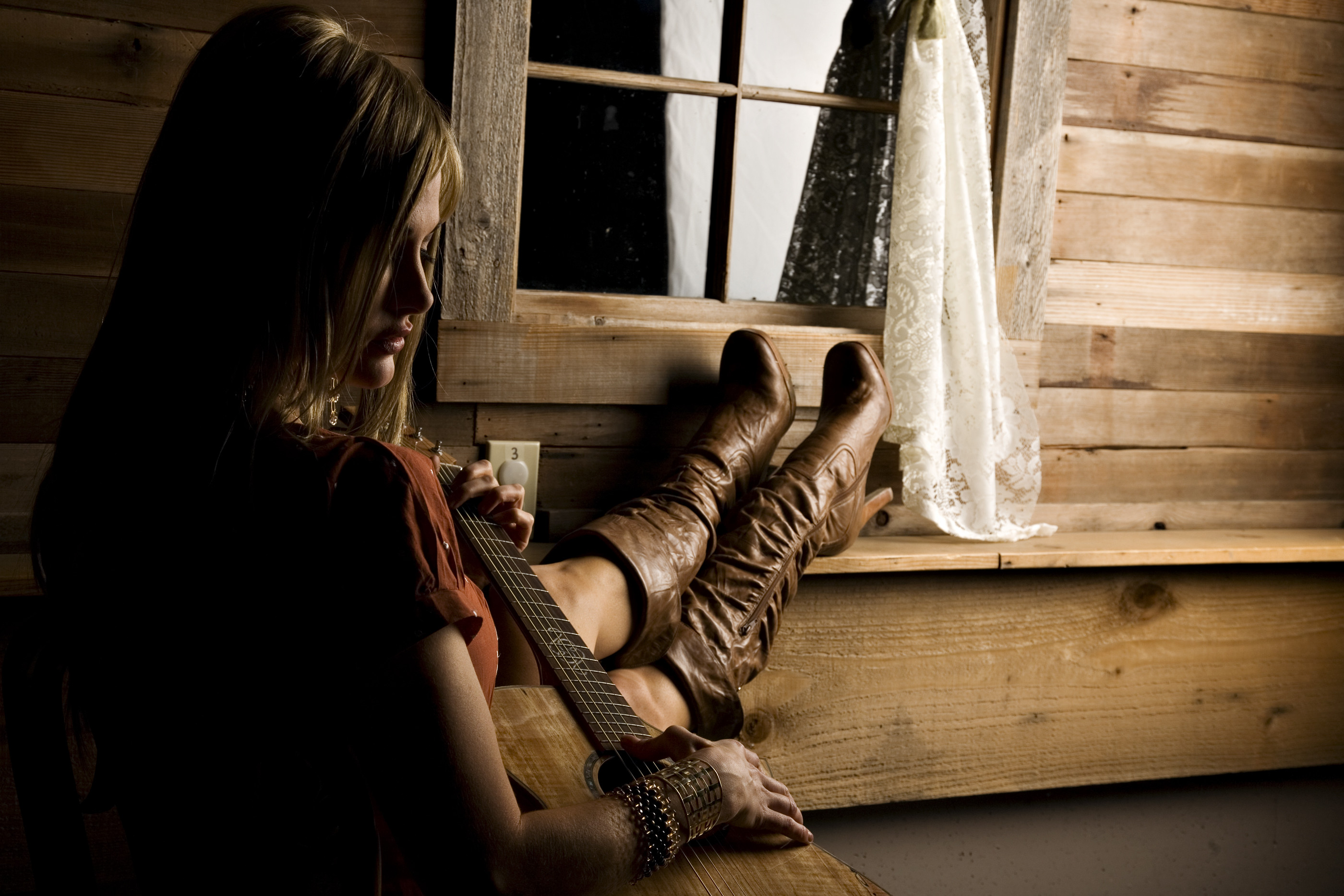 wallpaper.wiki-Country-girl-guitar-drapes-cowgirl-photos-