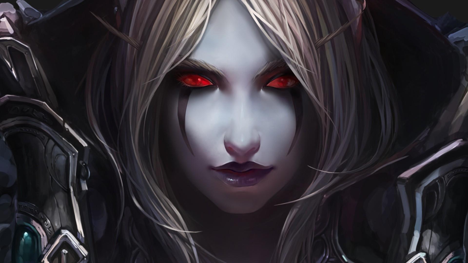 Sylvanas Windrunner World Of Warcraft Game HD Wallpaper