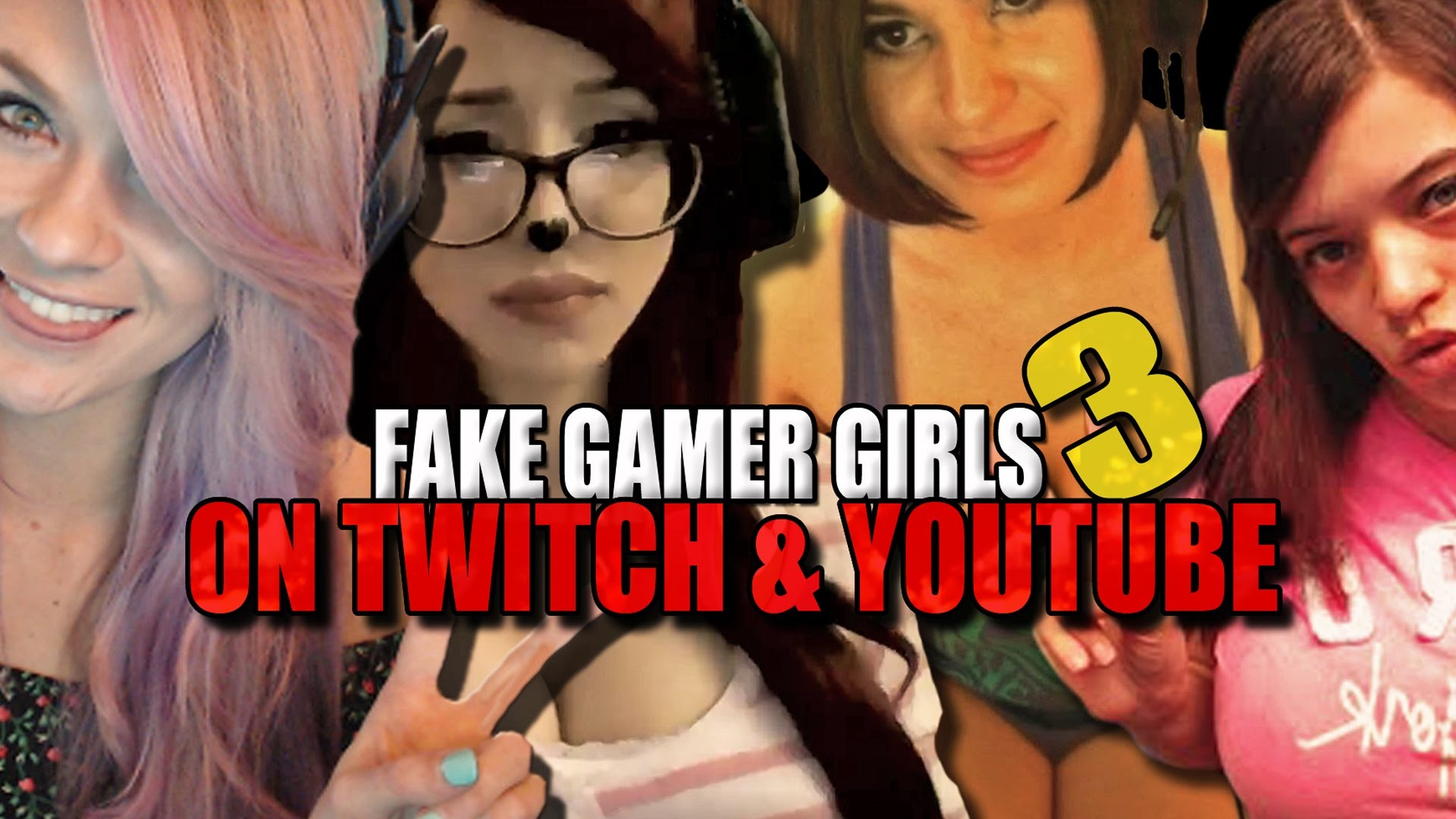 Fake Gamer Girls On Twitch And Youtube PART 3 (Pink Sparkles, Brittany  Venti & More) – YouTube