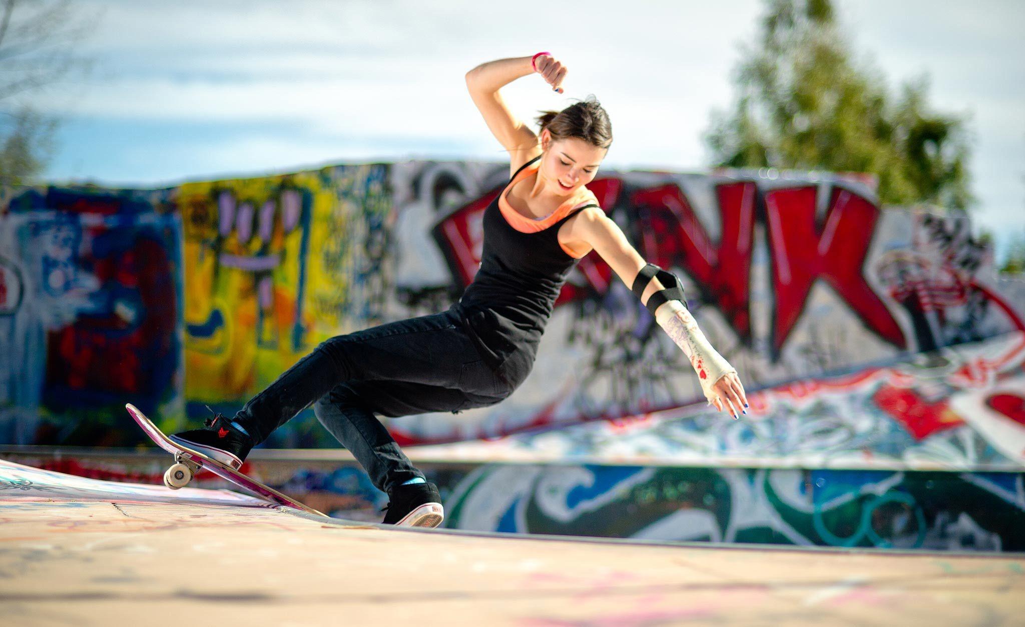 Skateboard wallpaper swag