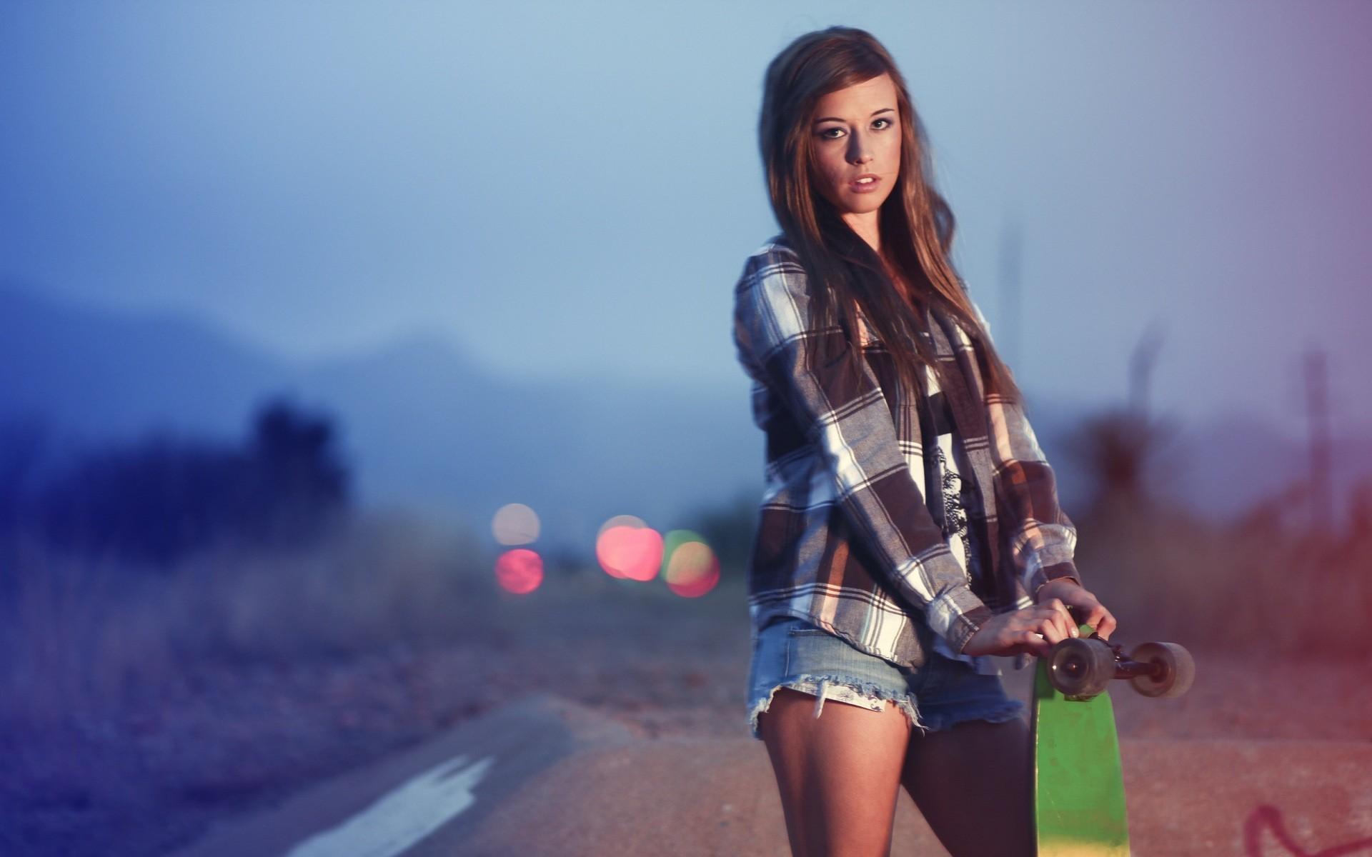 Skater Girl – Wallpaper #32741