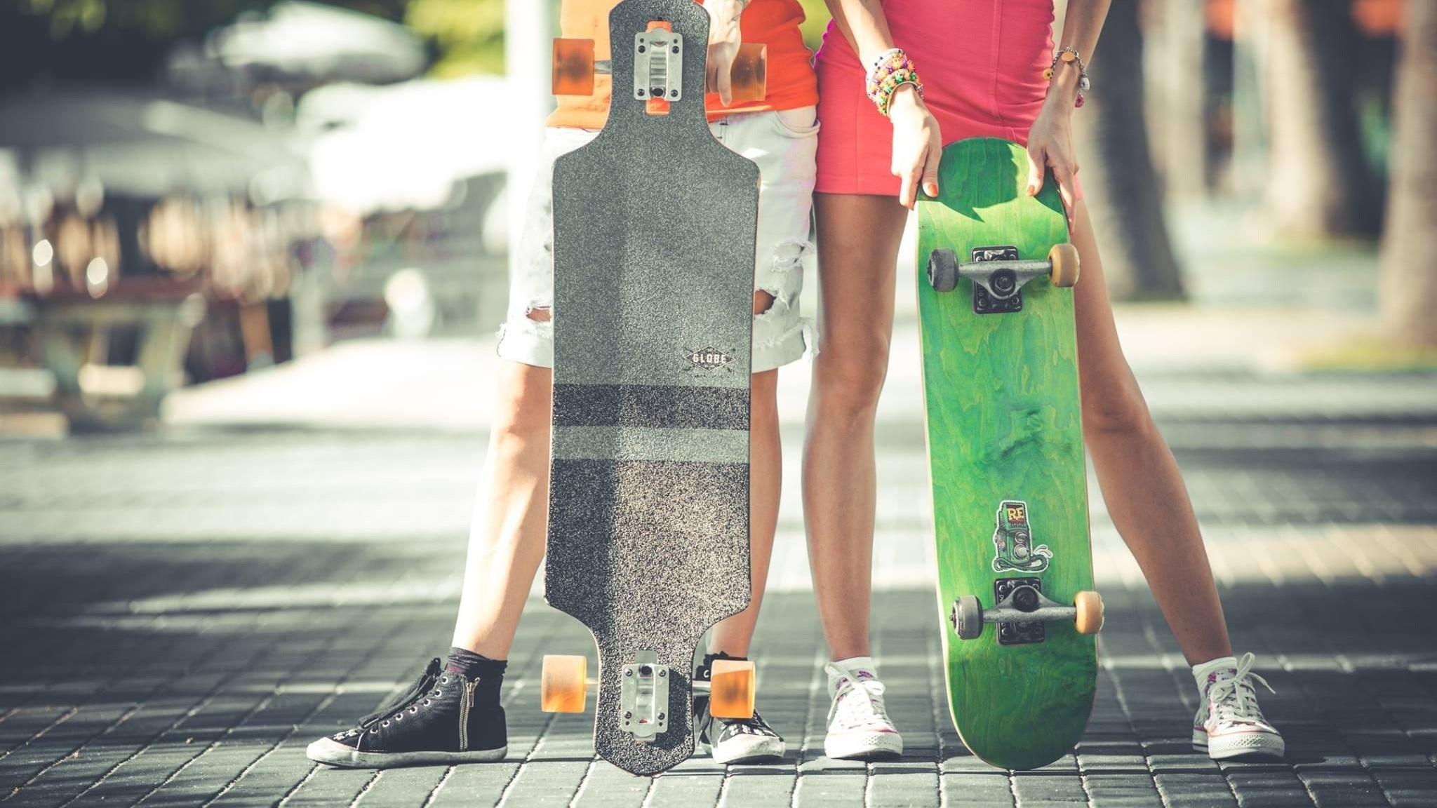 Preview wallpaper skate, skateboard, sport, hobby, longboard, board  2048×1152