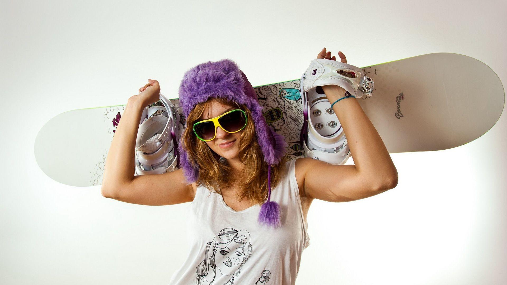 Download Wallpaper Equipment, Sports, Skateboard, Girl .