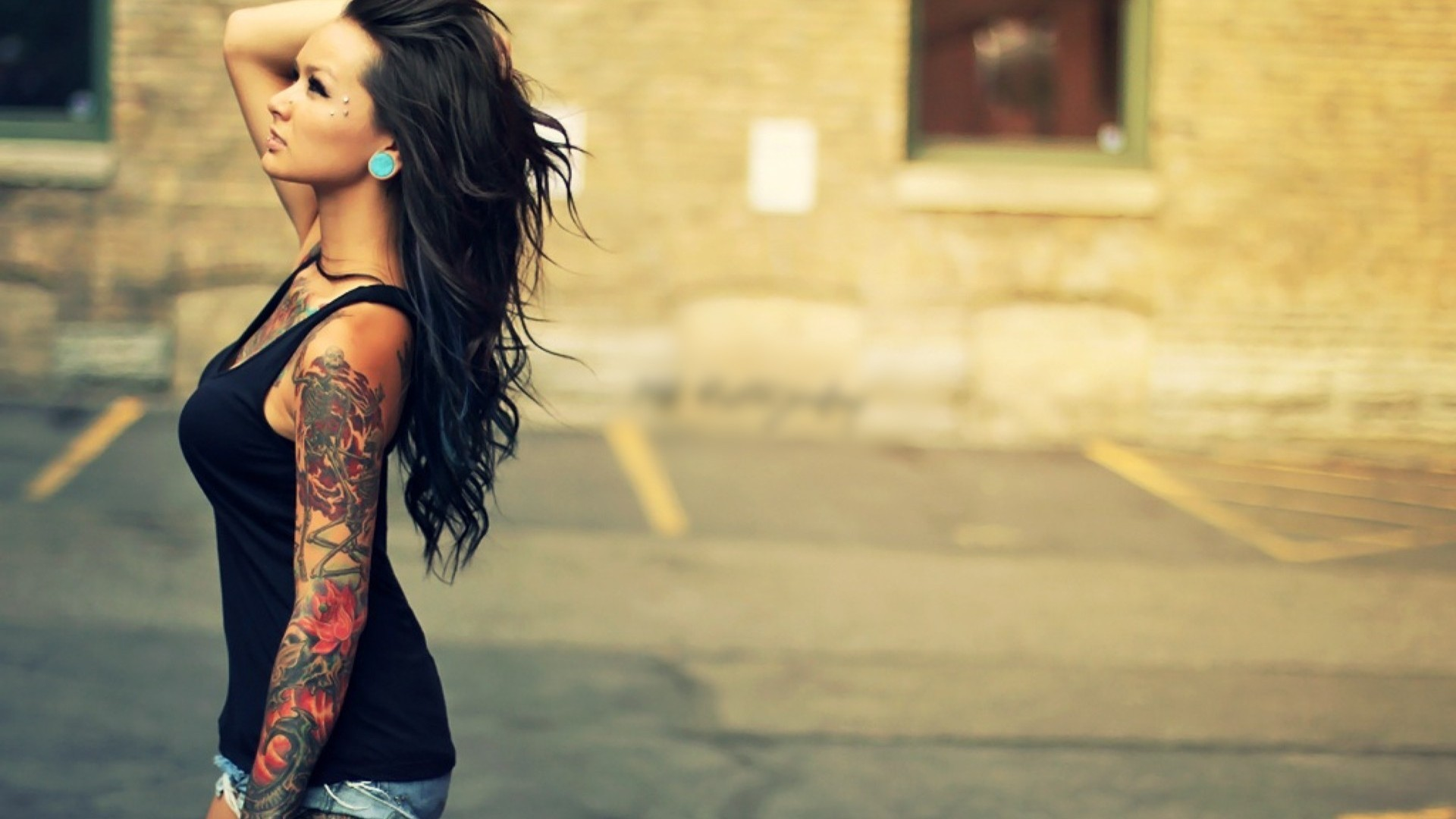 Tattoo Girl Wallpapers High Quality Download Free | HD Wallpapers |  Pinterest | Hd wallpaper, Wallpaper and Tattoo