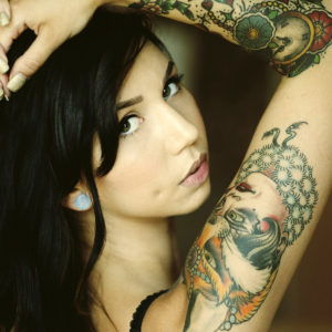 Tattoo Girl Wallpaper HD