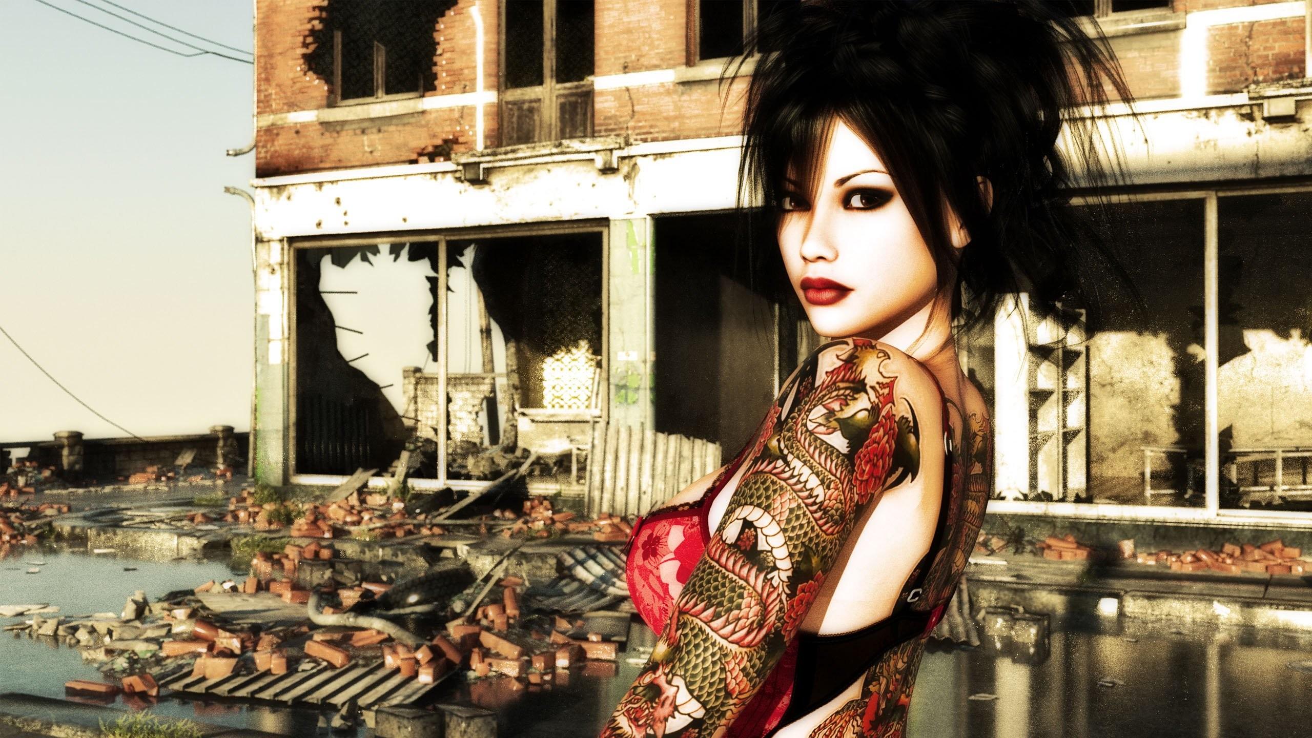 Tattoo Girl HD 763316 …