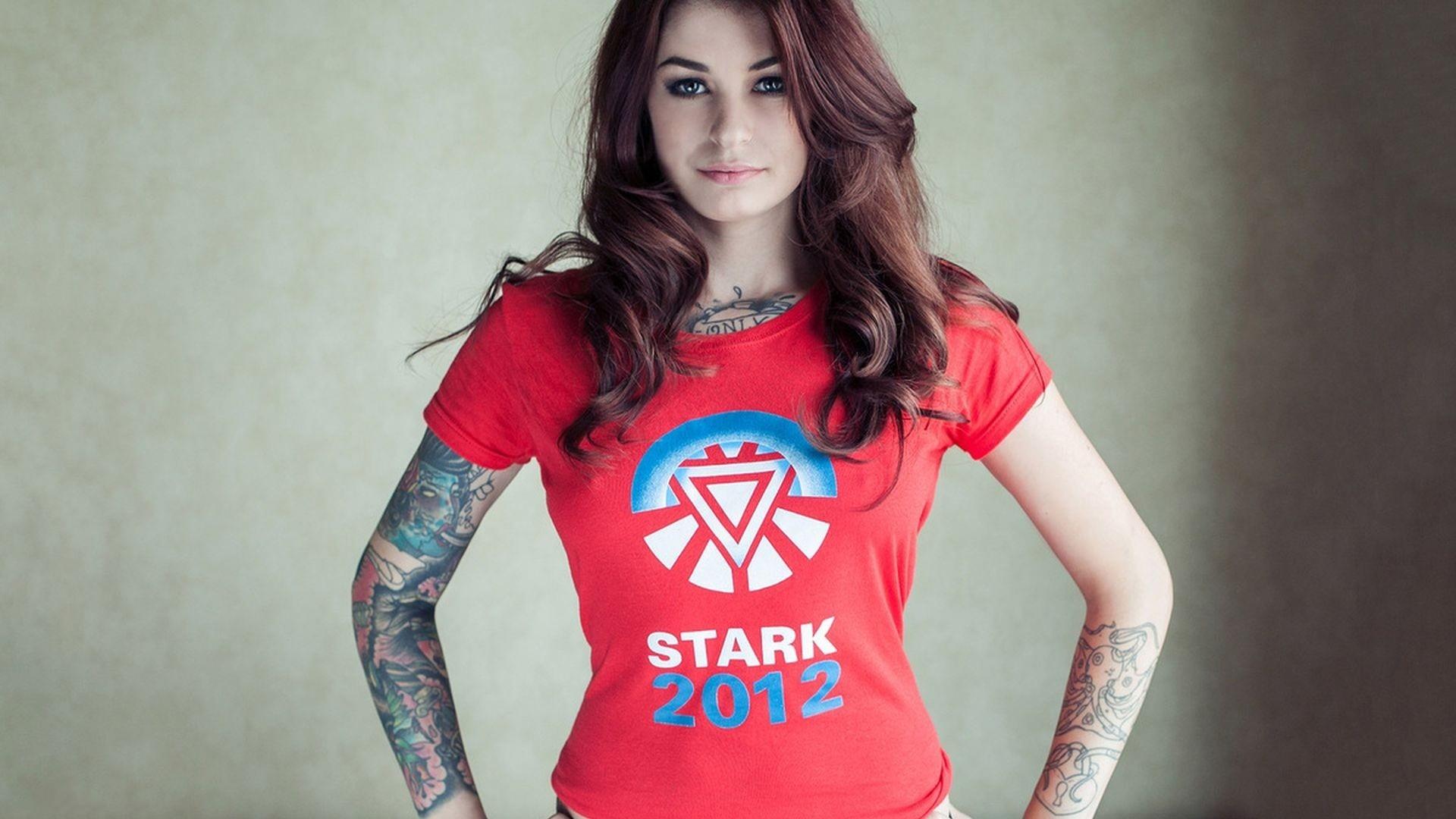 Download Tattoo Model Wallpaper 42193