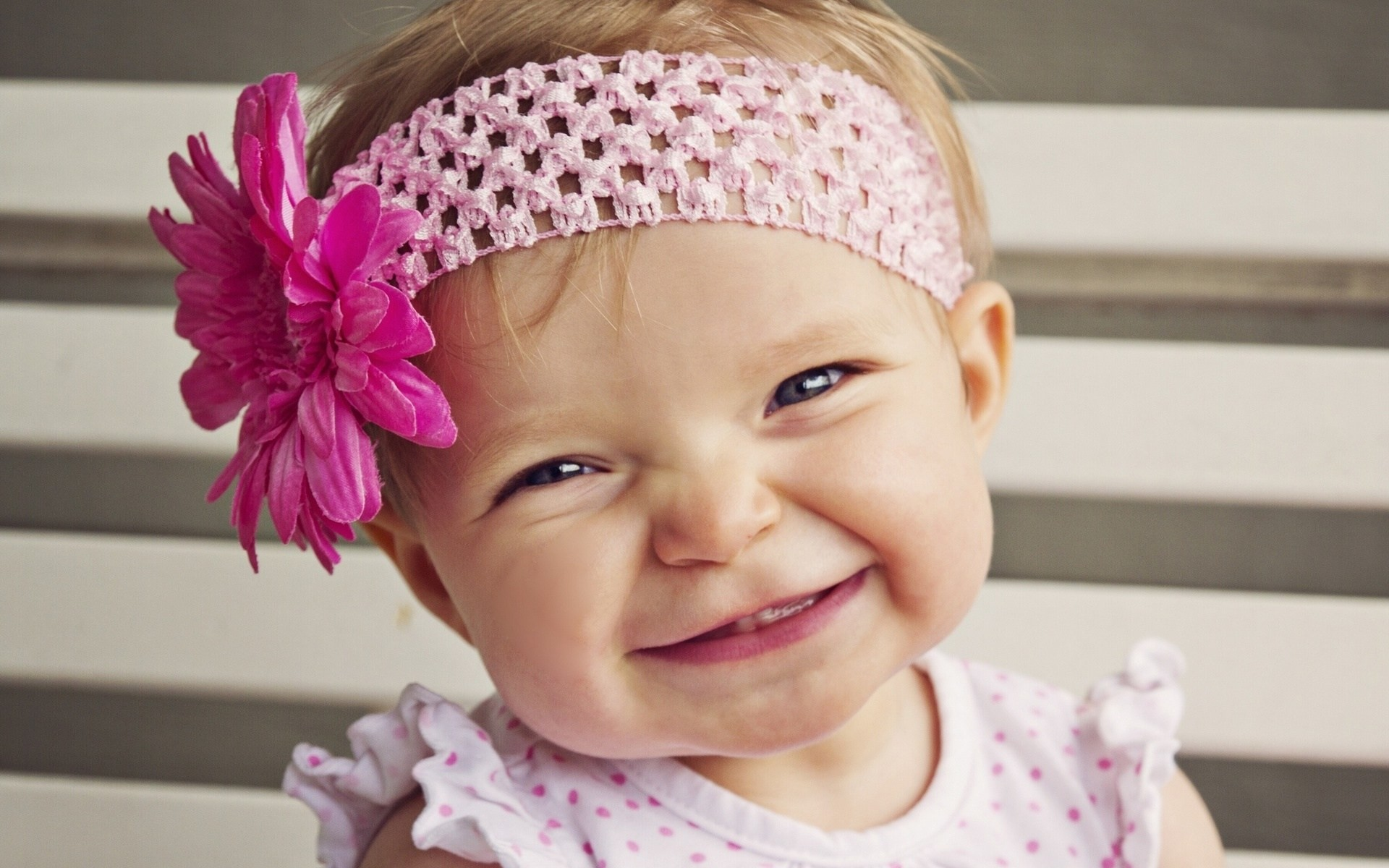 Download Cute Baby Girl Smile Wallpaper Free Wallpapers