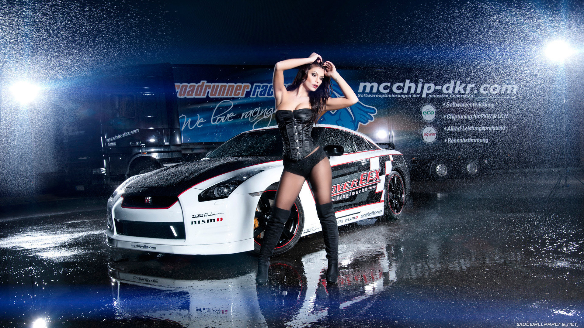 Nissan and Girl wide wallpapers …