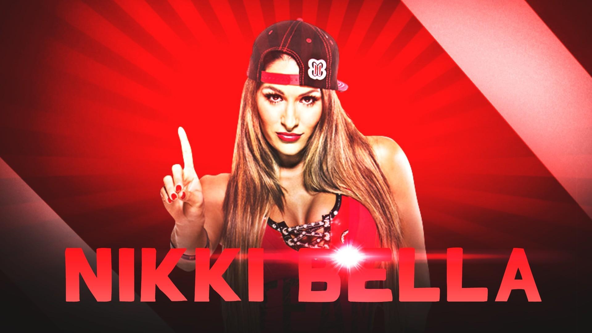 2015 Nikki Bella HD Wallpaper