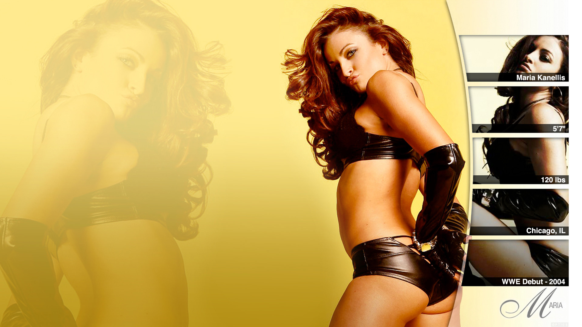 … Maria – WWE Wallpaper by 0PT1C5