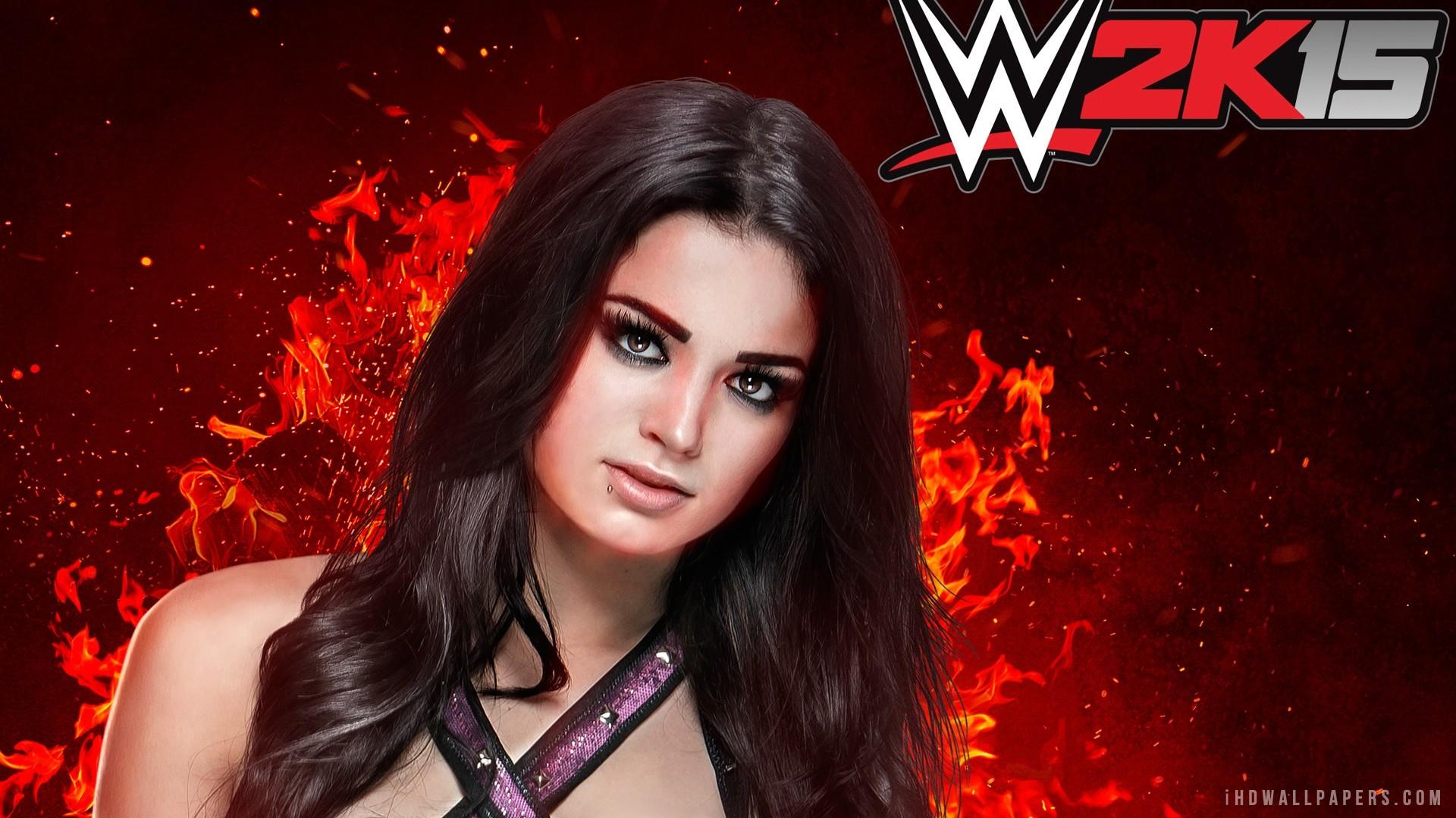 WWE 2K15 Paige HD Wallpaper – iHD Wallpapers