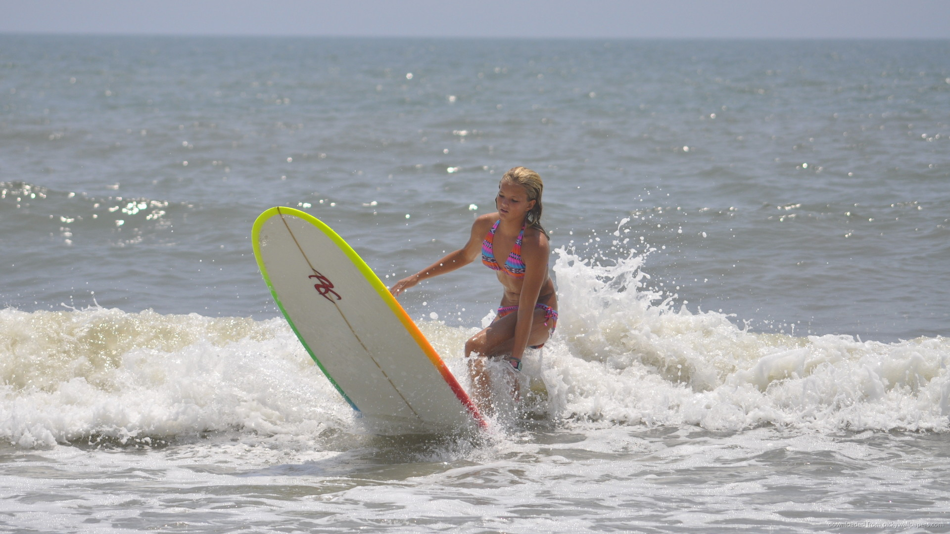 HD Surfer Girl wallpaper