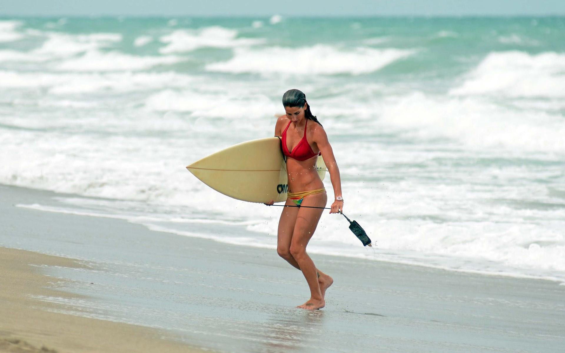Surfer girl HD Wallpaper 1920×1080 Surfer girl HD Wallpaper 1920×1200
