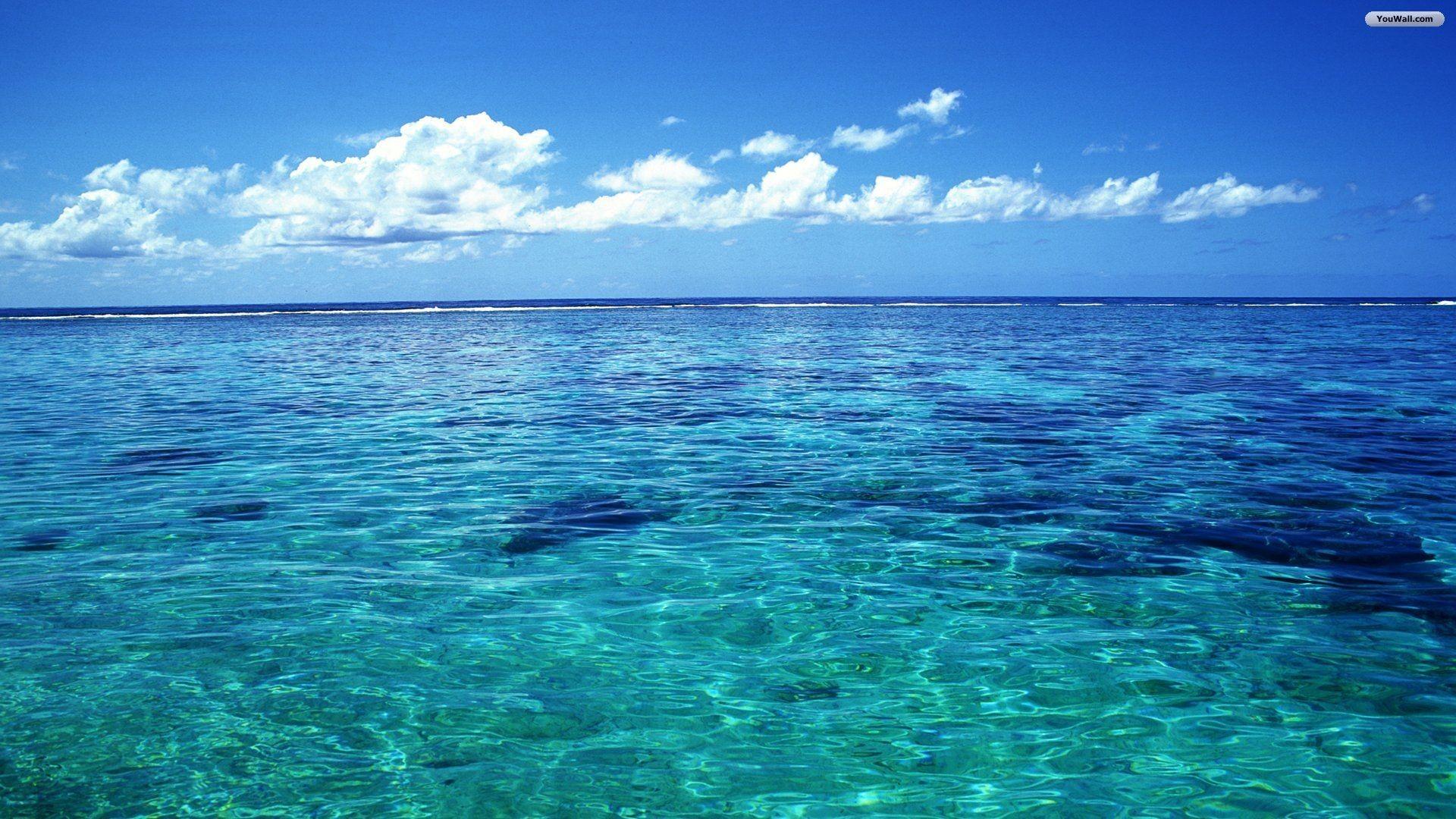 Girl Underwater in Ocean