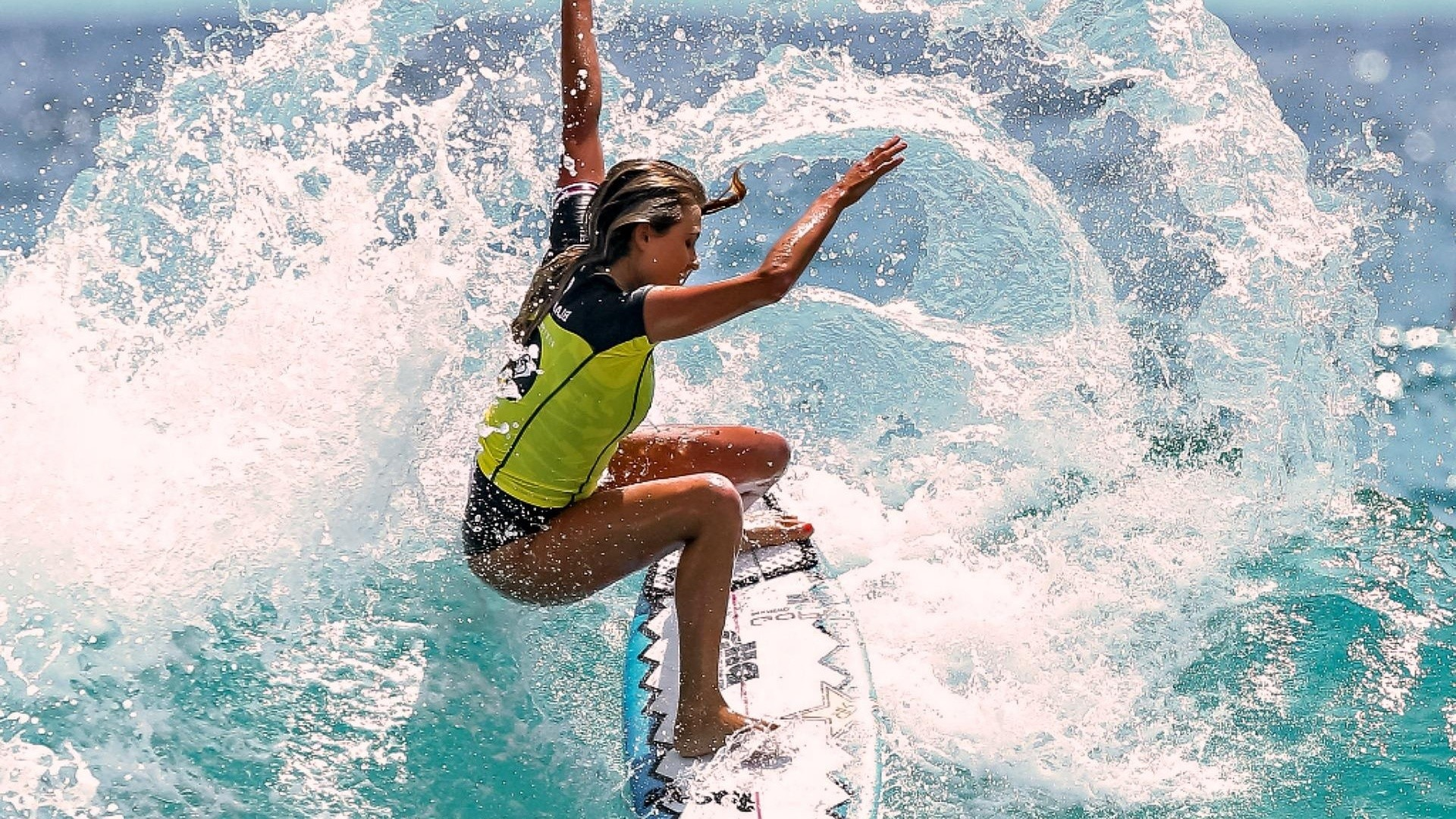 Motivational, Surfer, Surfing, Water Splashing, Surfer Girl, Alana  Blanchard, Alana