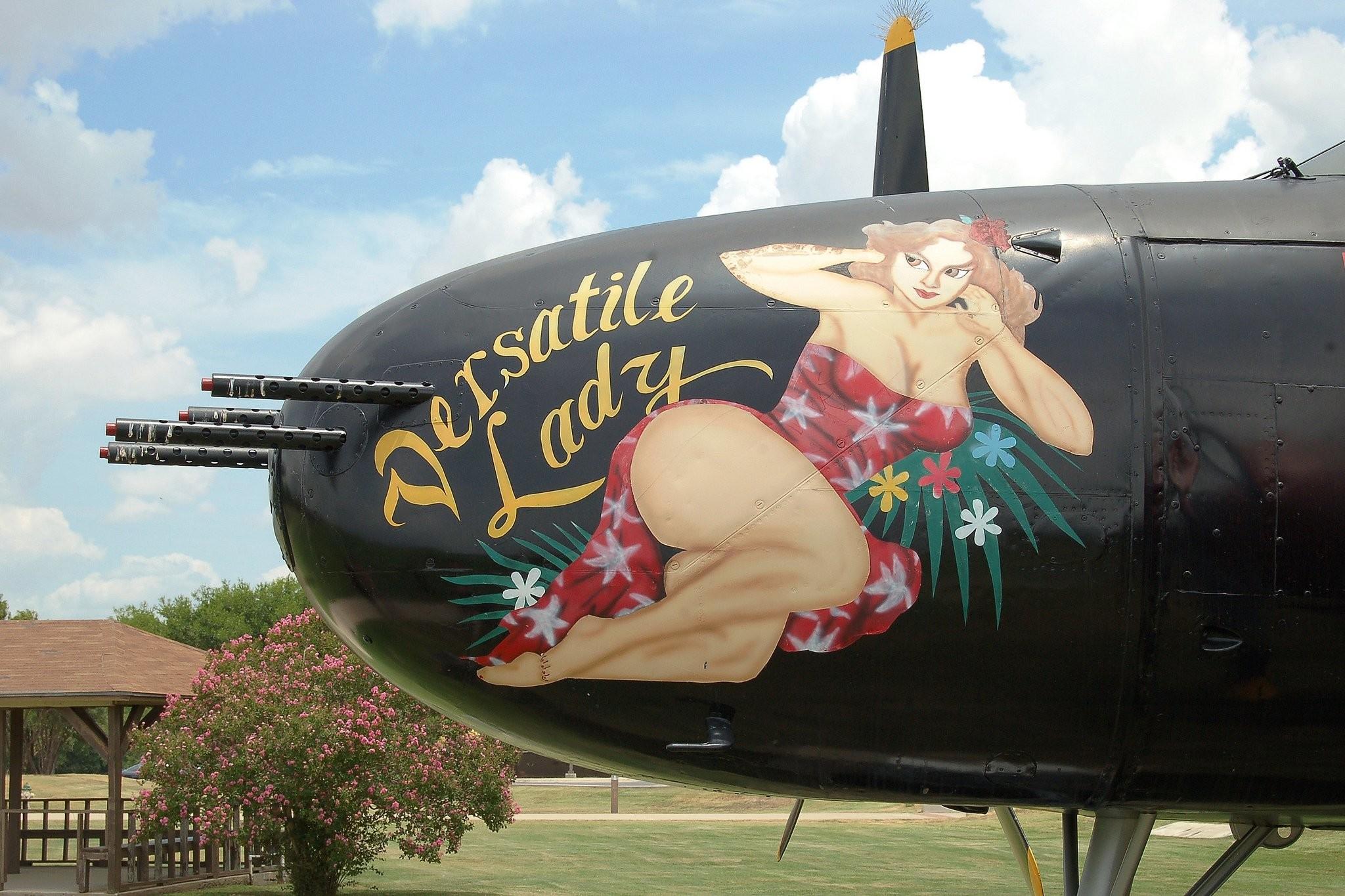 Nose Art aircrafts plane fighter pin-up wallpaper     491511    WallpaperUP