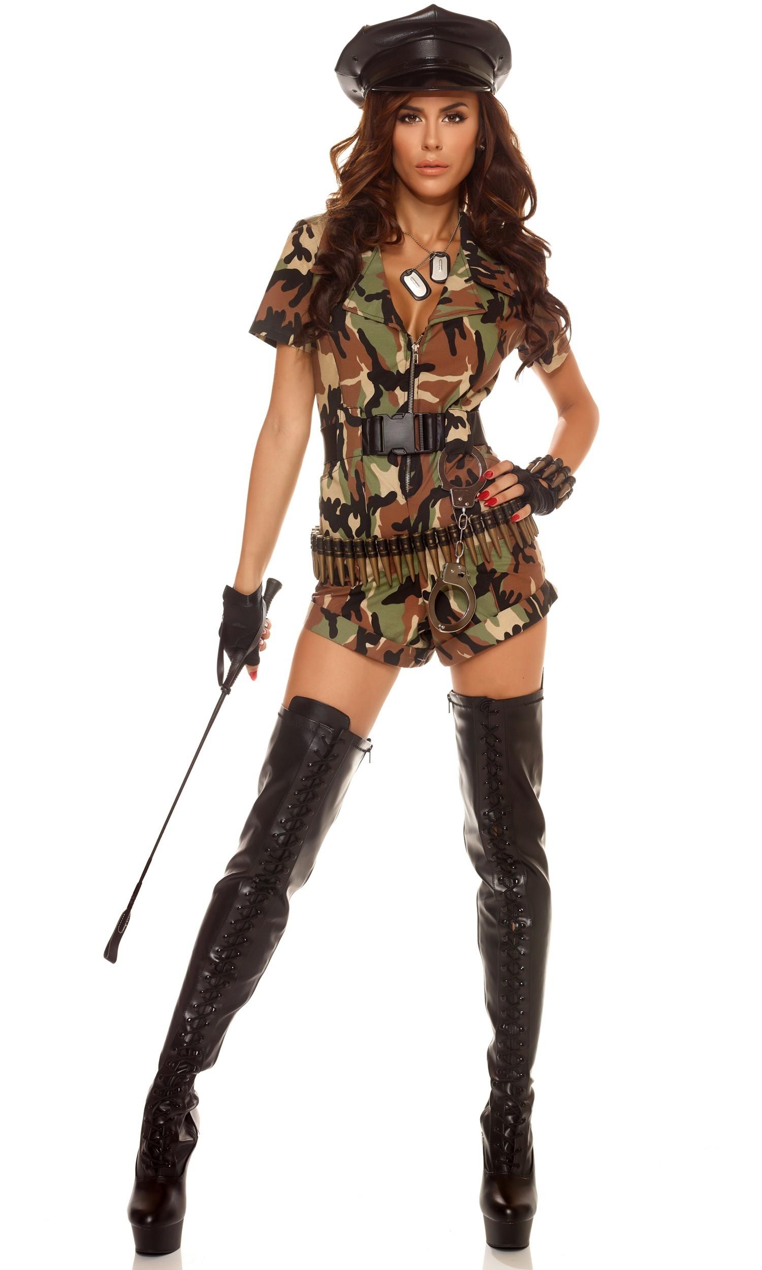 War Ready 3pc Sexy Army Costume